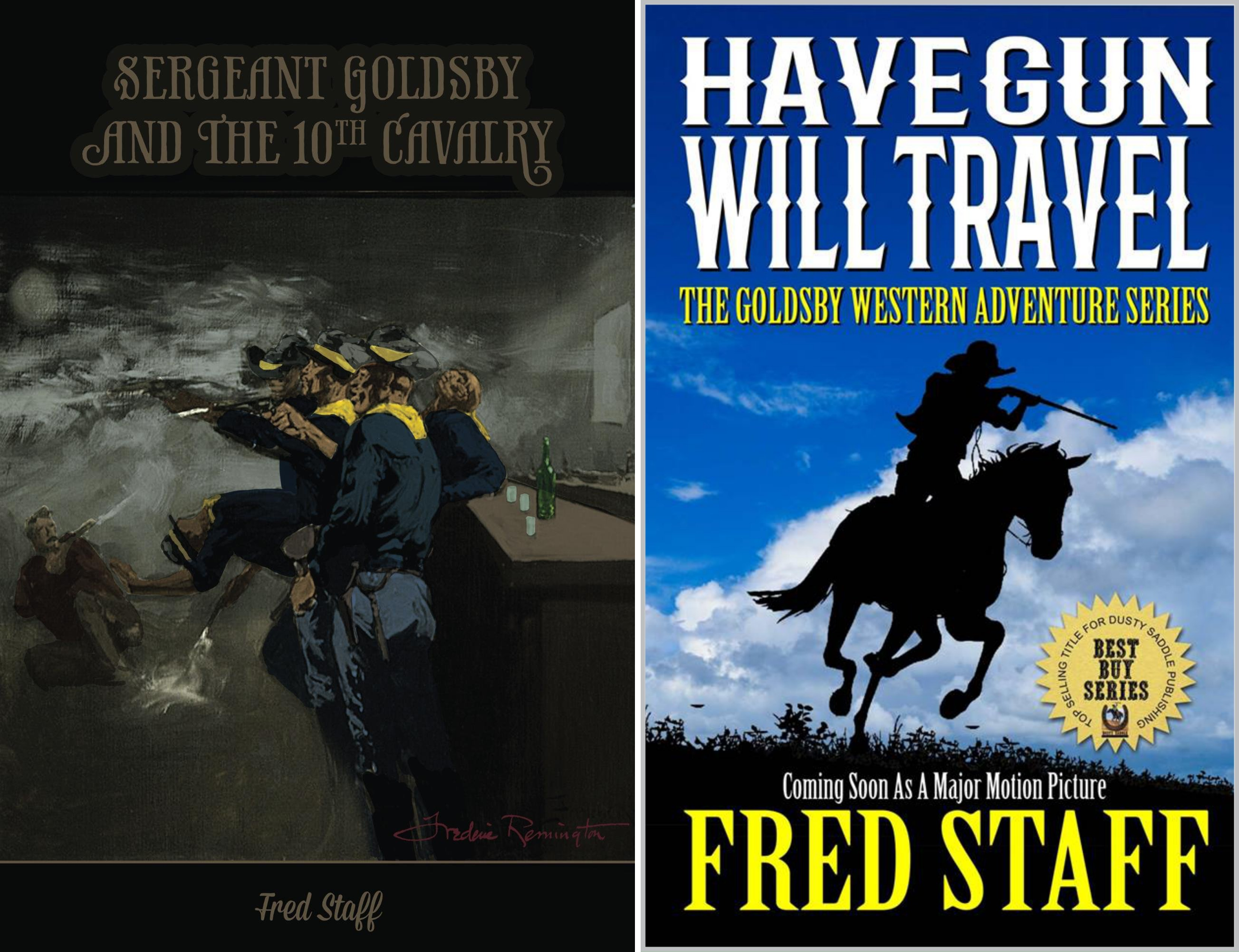 The Goldbsy Western Adventure Series (2 Book Series)