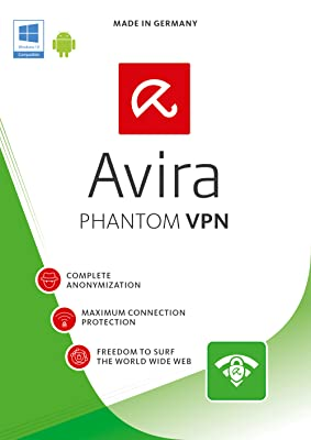 Avira Avira Phantom VPN Pro 2016 | 1 Device | 1 Year | Download [Online Code]
