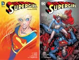 img - for Supergirl (2005-2011) (Omnibuses) (2 Book Series) book / textbook / text book