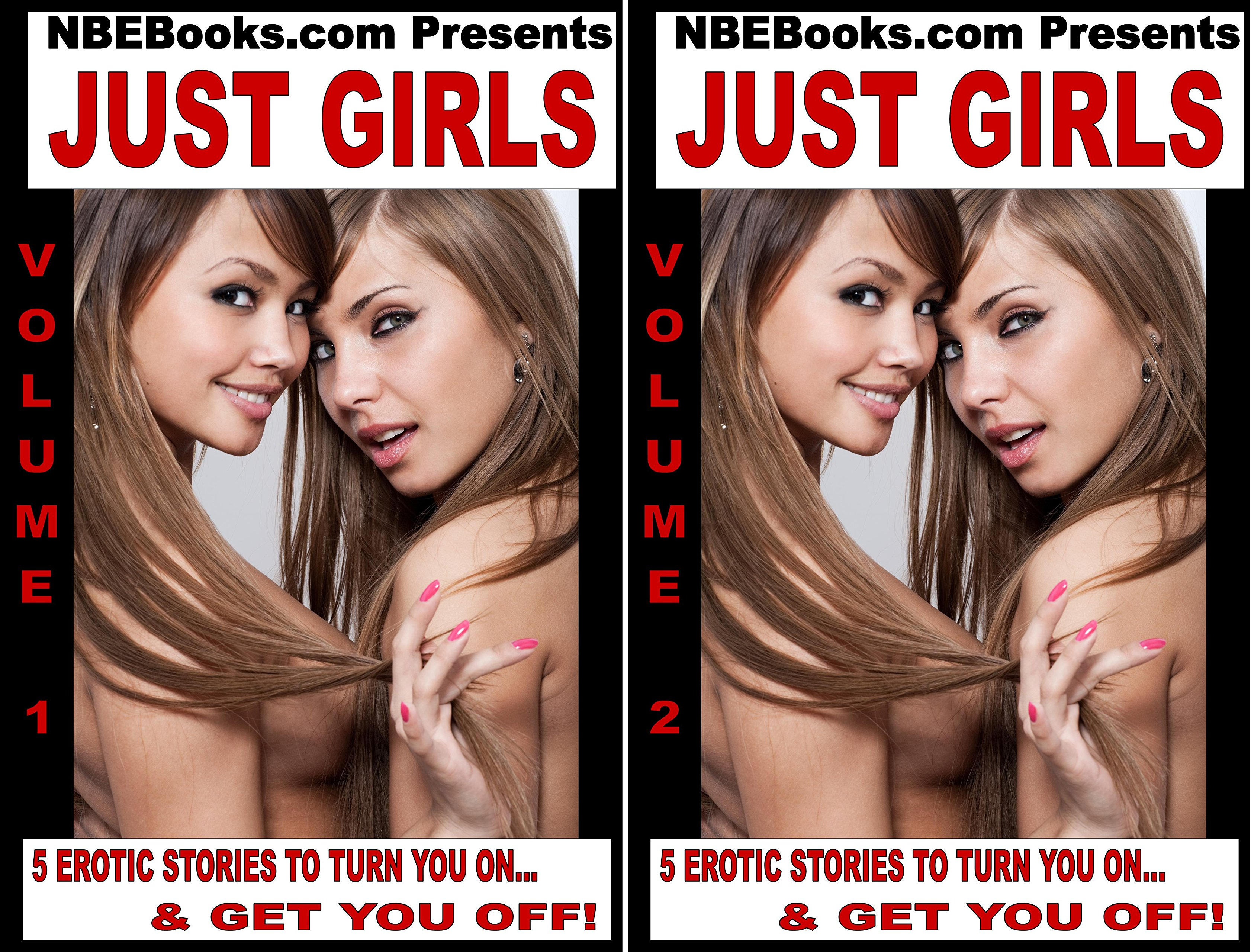 Just Girls! A Collection of Hot Lesbian Stories (2 Book Series)