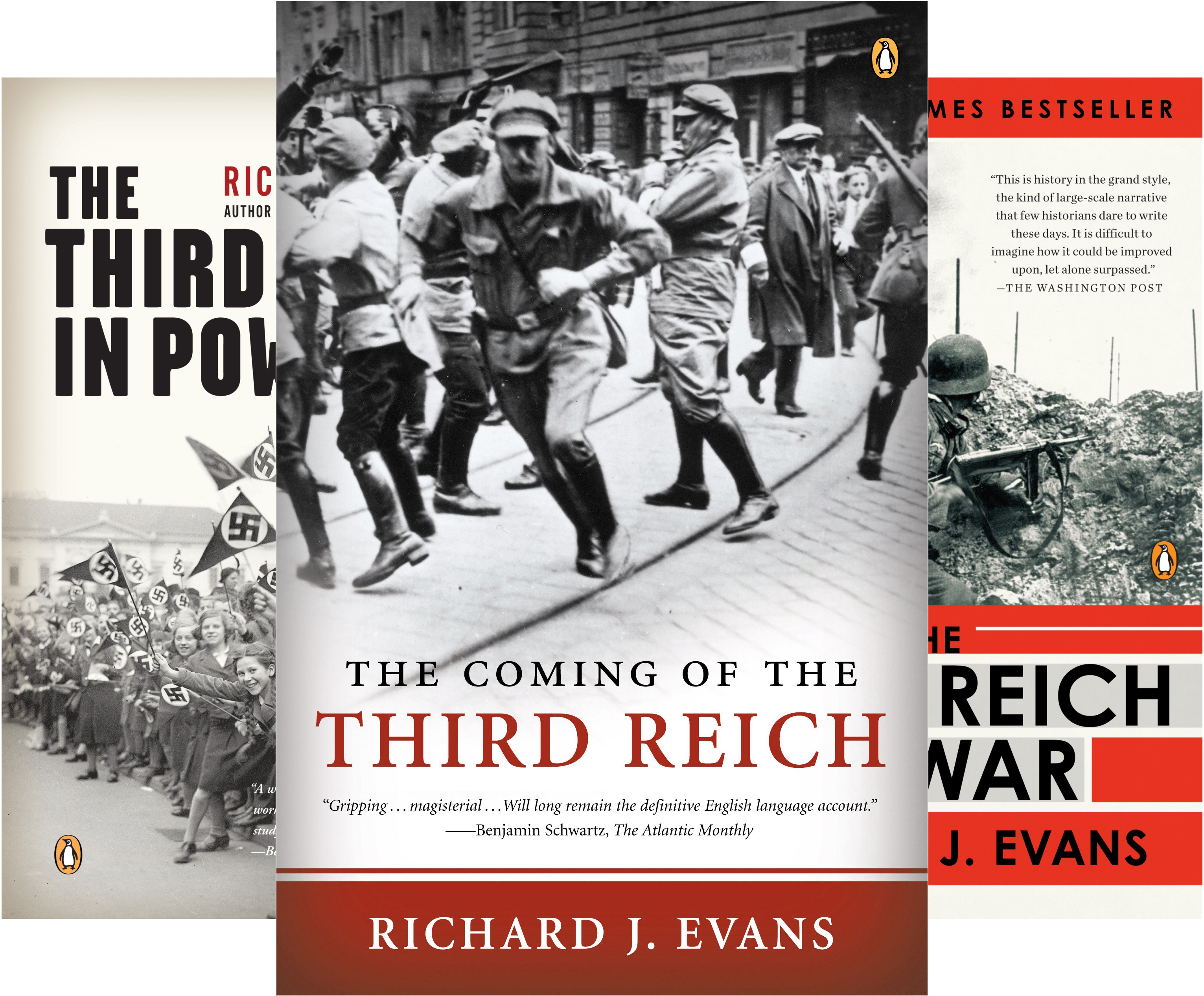 The History of the Third Reich (3 Book Series)