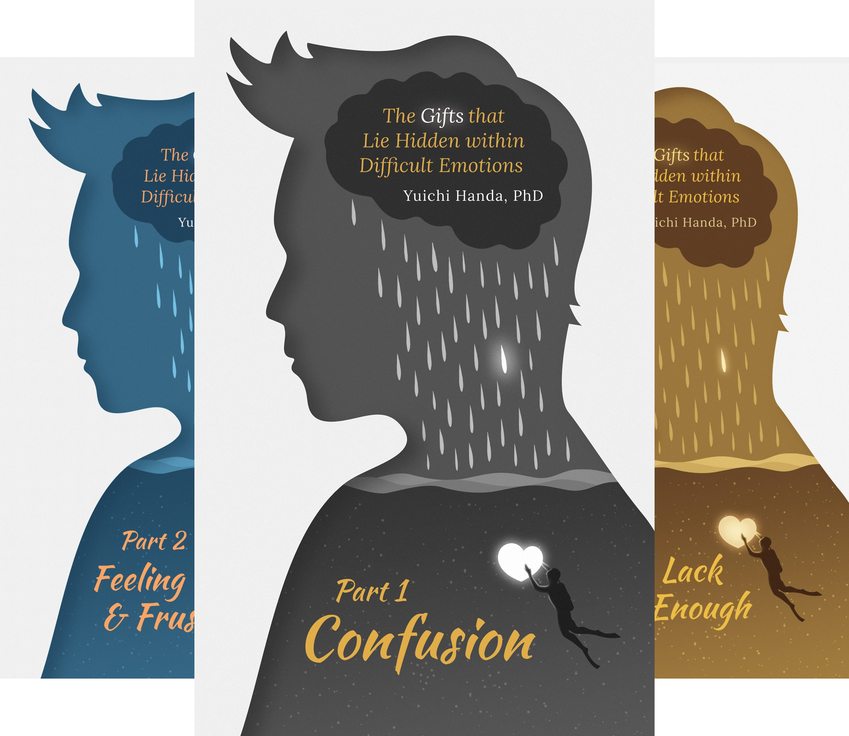 The Gifts that Lie Hidden within Difficult Emotions (3 Book Series)