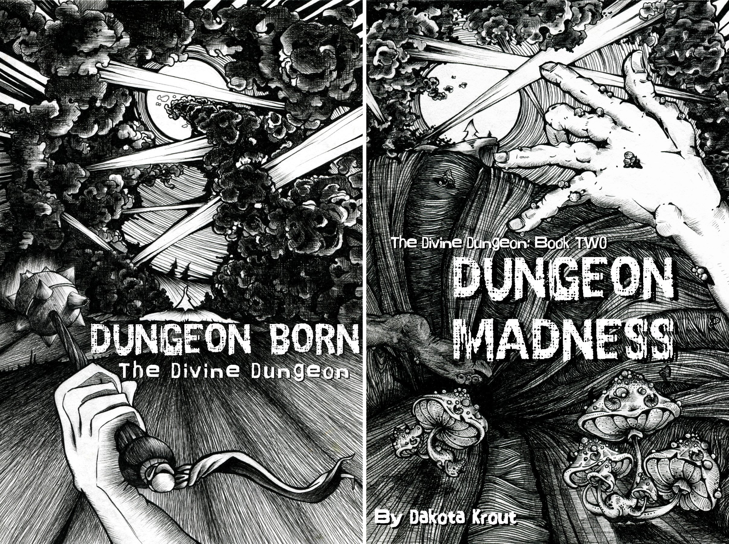 The Divine Dungeon (2 Book Series)