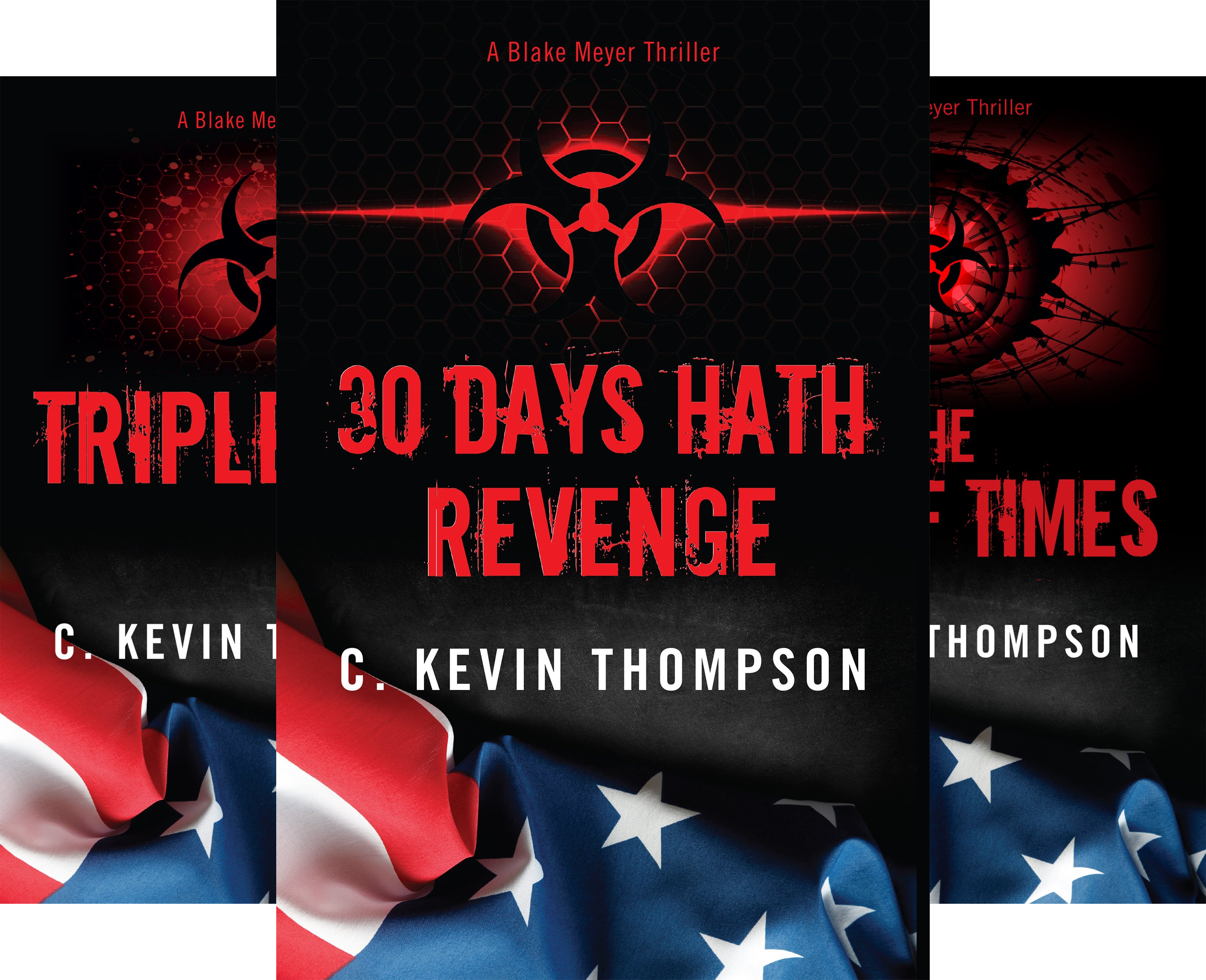 The Blake Meyer Thriller Series (3 Book Series)