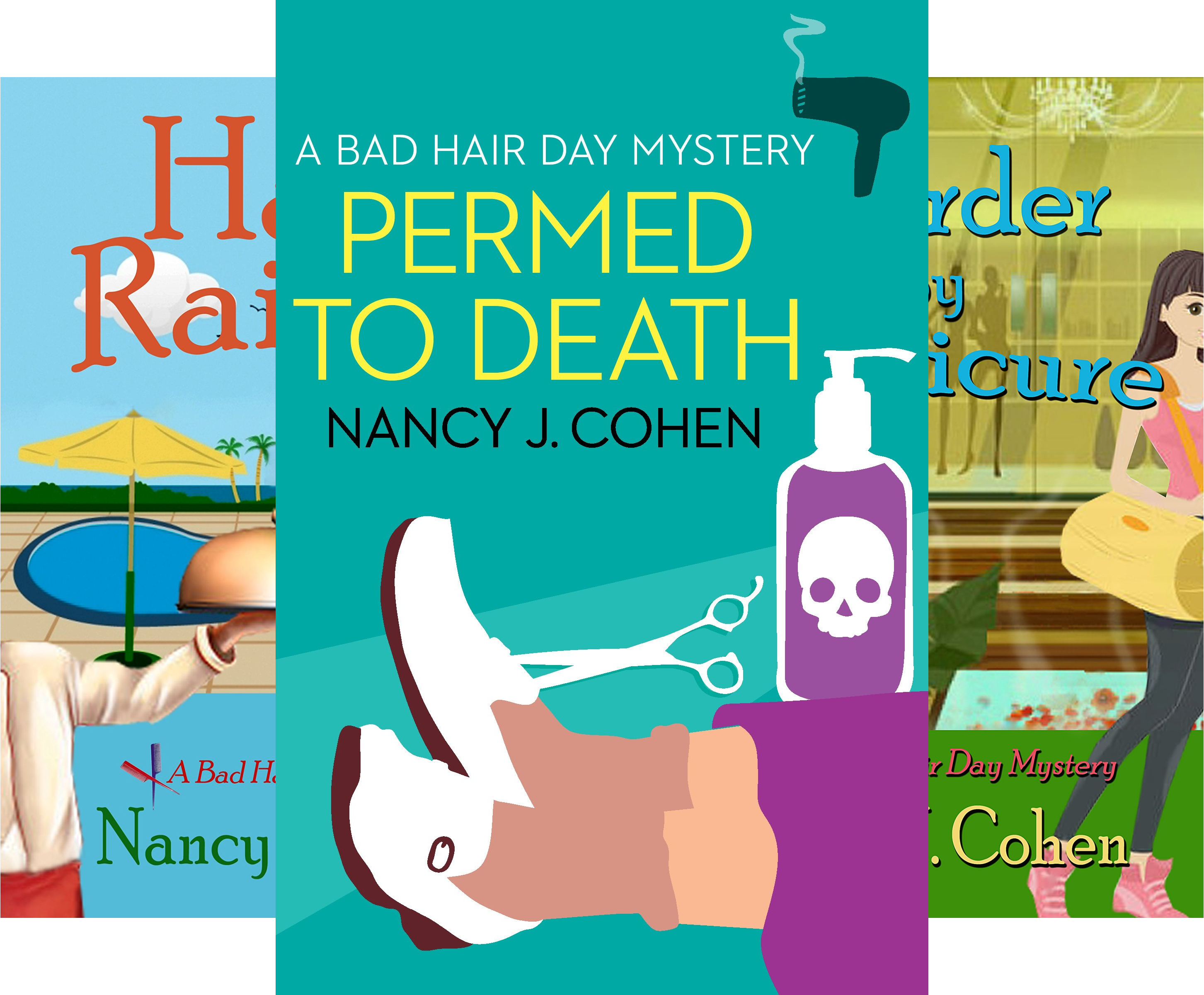 The Bad Hair Day Mysteries (14 Book Series)