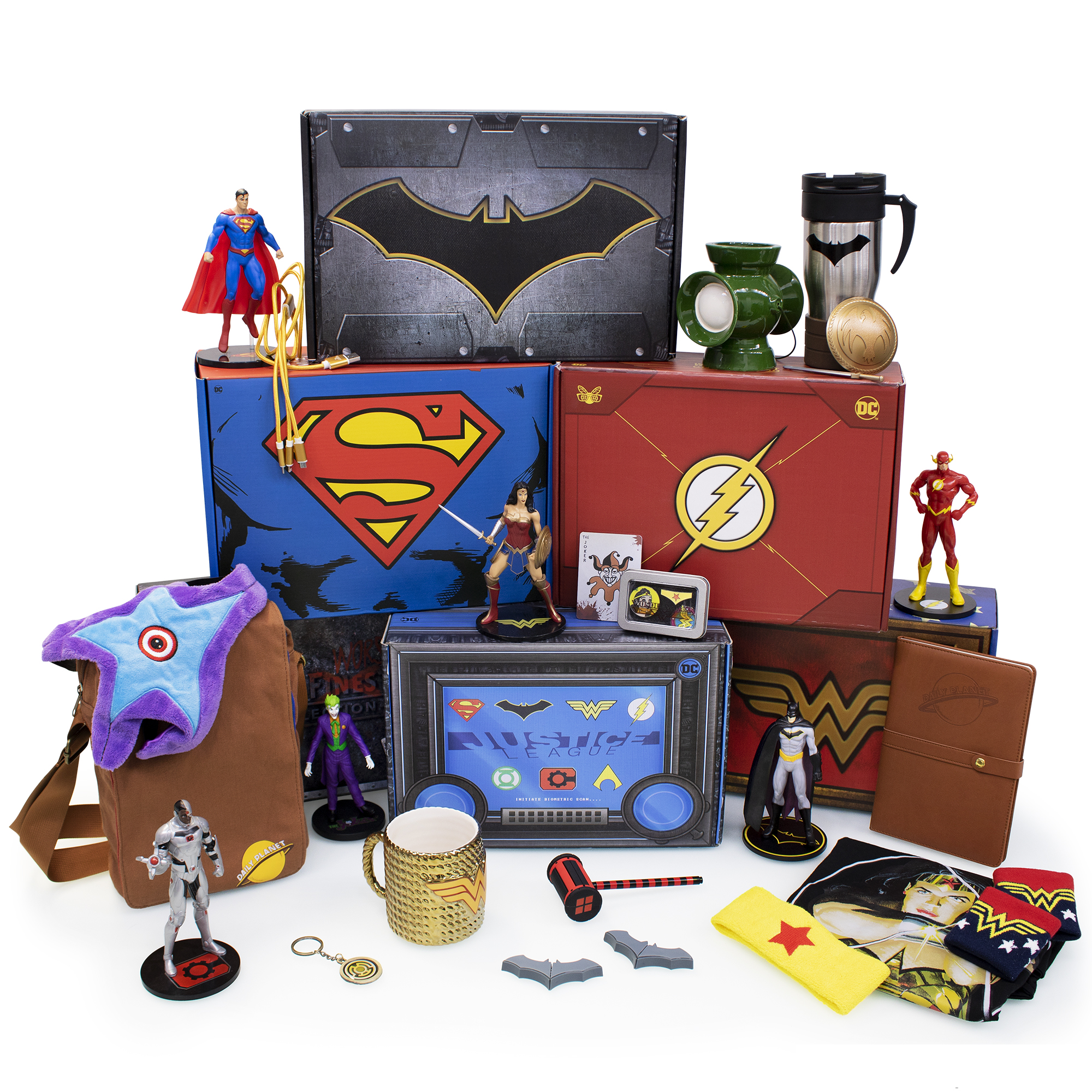 - World's Finest Collection Box -The Officially Licensed DC Comics Mystery Gift Subscription Box