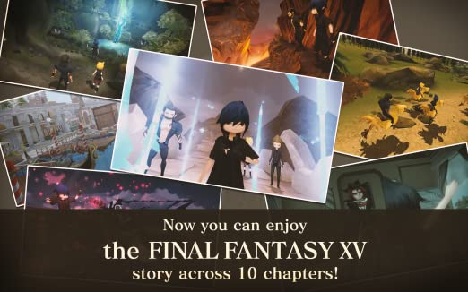 Amazon Final Fantasy Xv Pocket Edition Appstore For Android