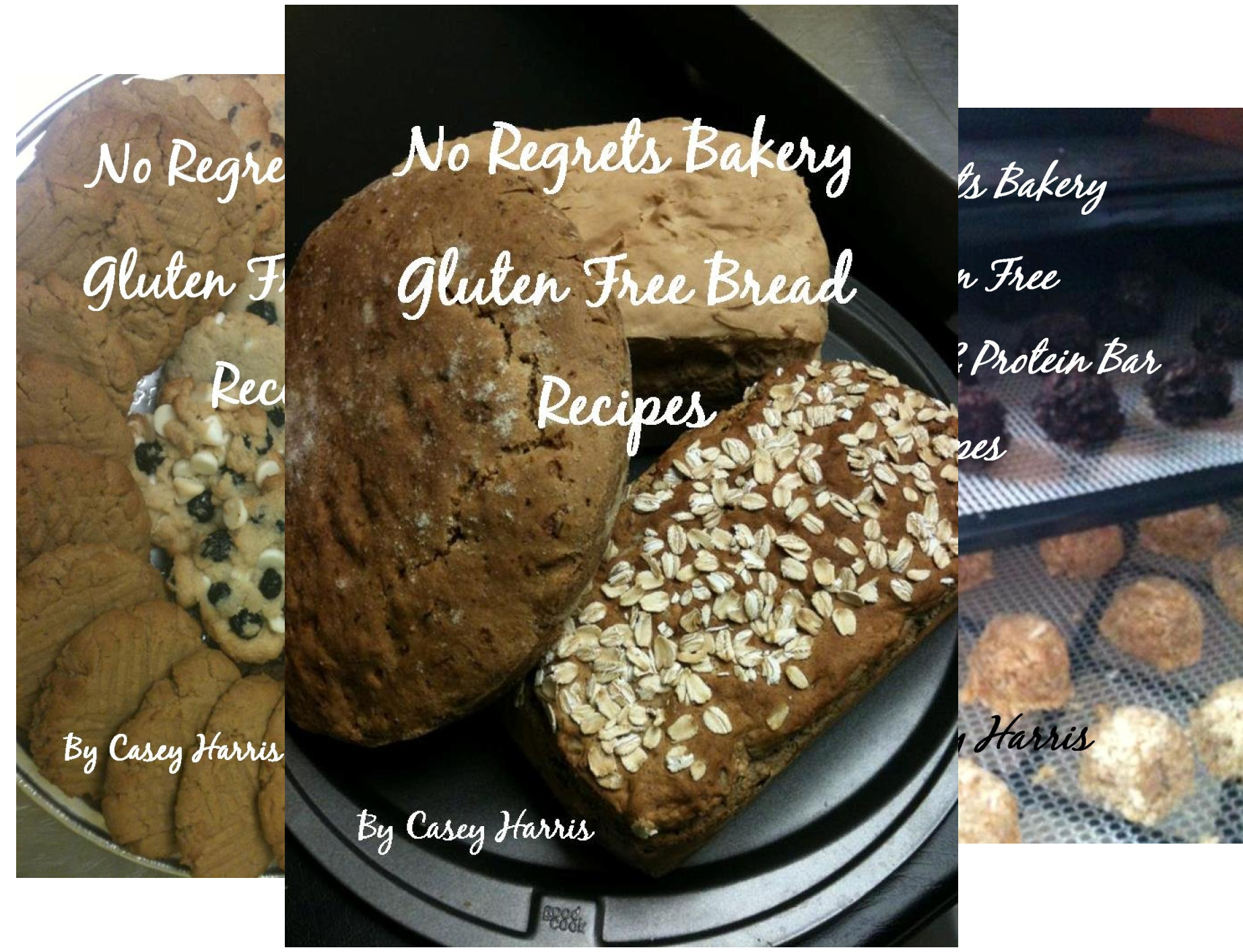 No Regrets Bakery Gluten Free Recipes (4 Book Series)
