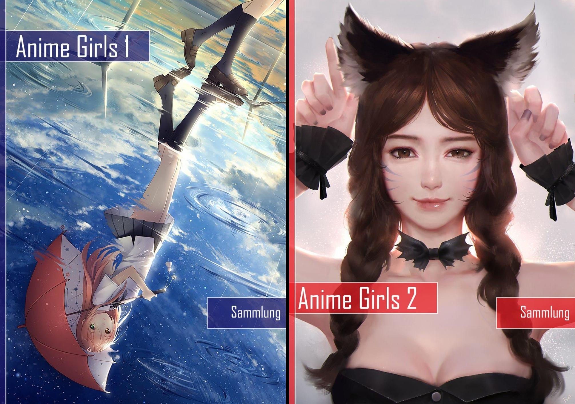 Anime Girls (Reihe in 2 Bänden)