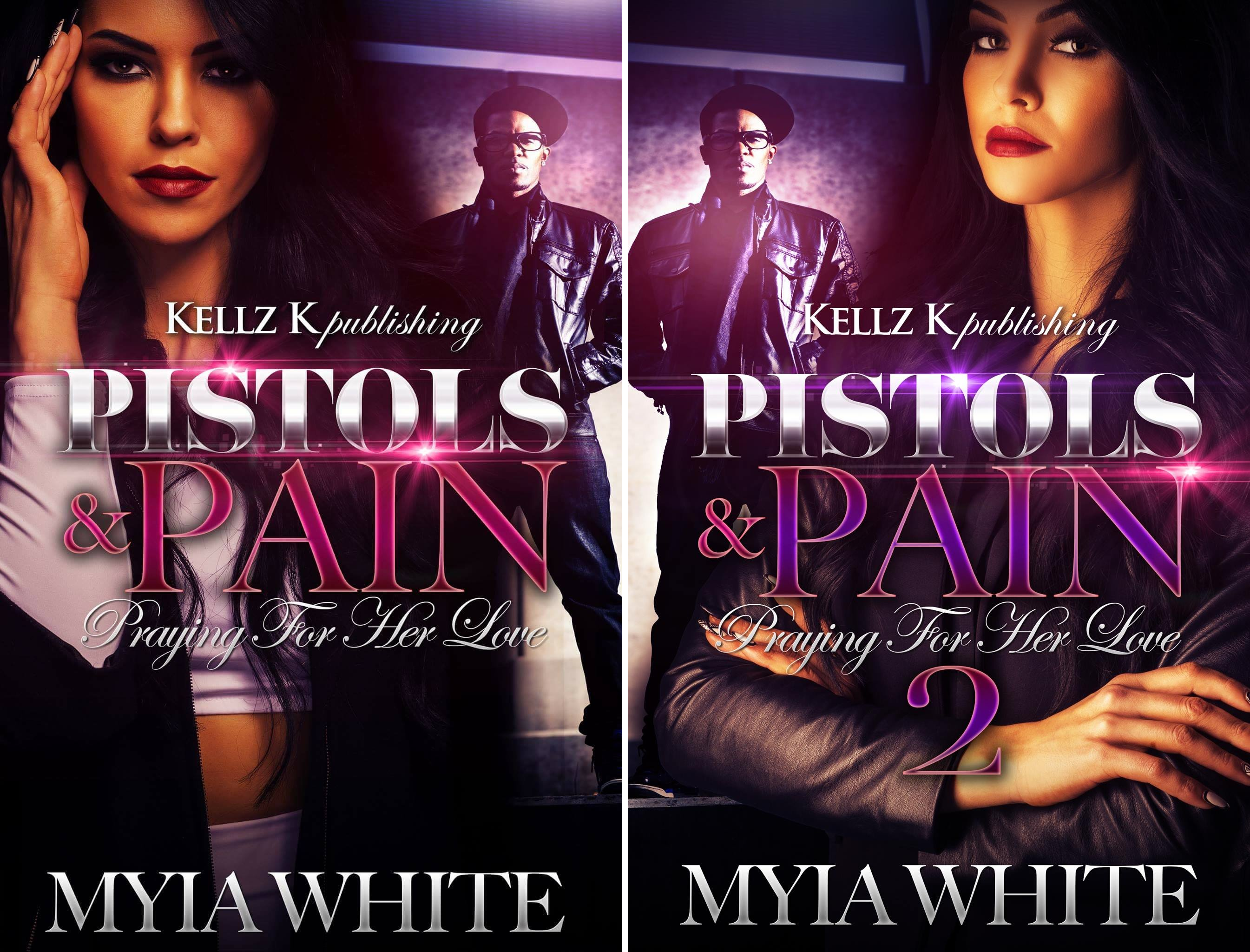 Books : Pistols & Pain:Praying For Her Love (2 Book Series)