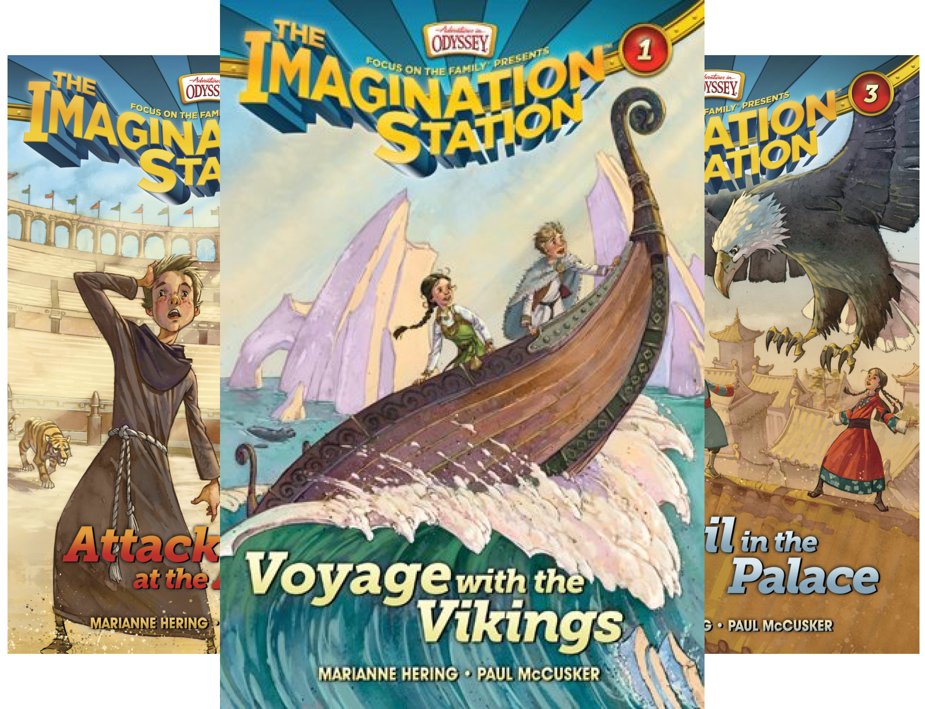 AIO Imagination Station Books (20 Book Series)