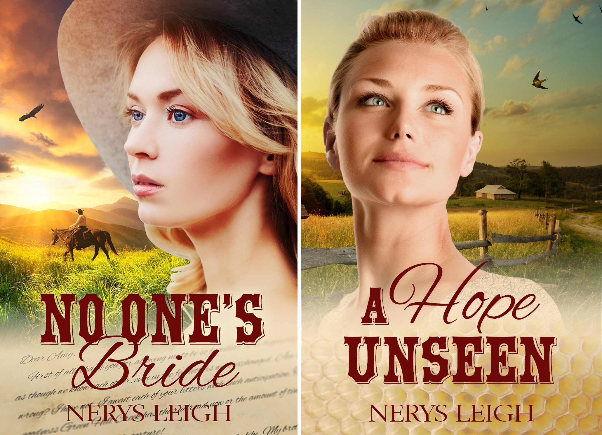 Escape to the West (2 Book Series)