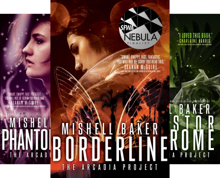 The Arcadia Project (3 Book Series) by Mishell Baker