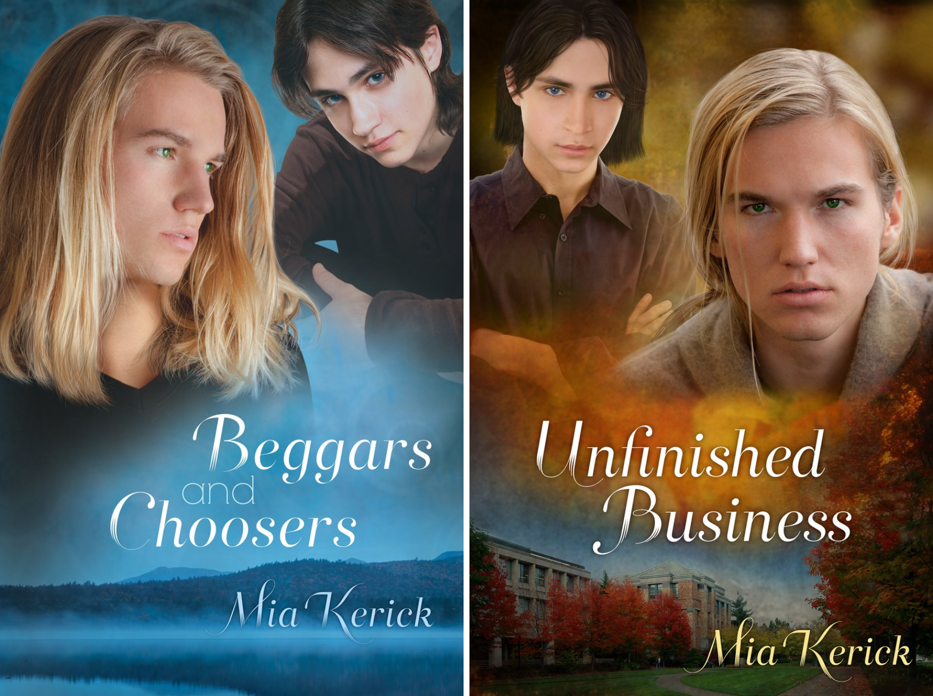 Beggars and Choosers and Unfinished Business (2 Book Series)