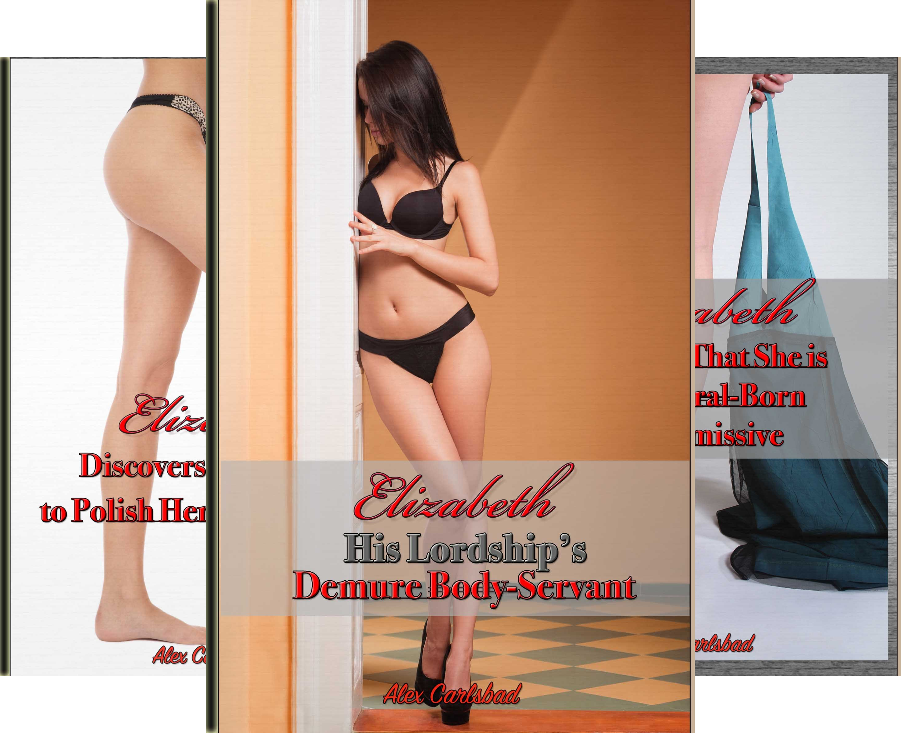 Elizabeth, His Lordship's Demure Body-Servant (5 Book Series)