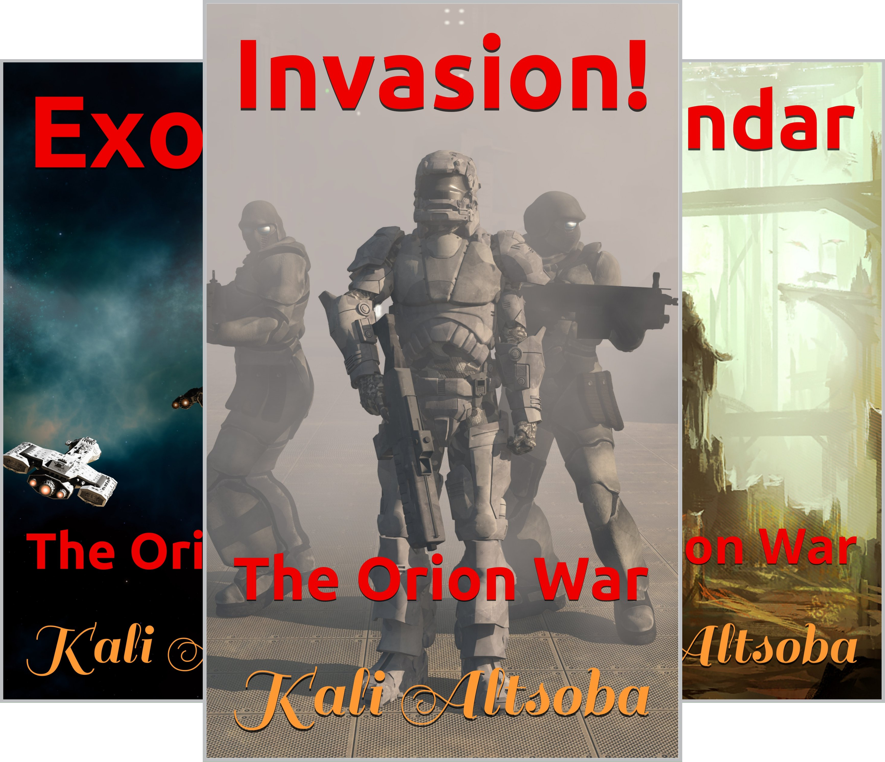 The Orion War (6 Book Series)