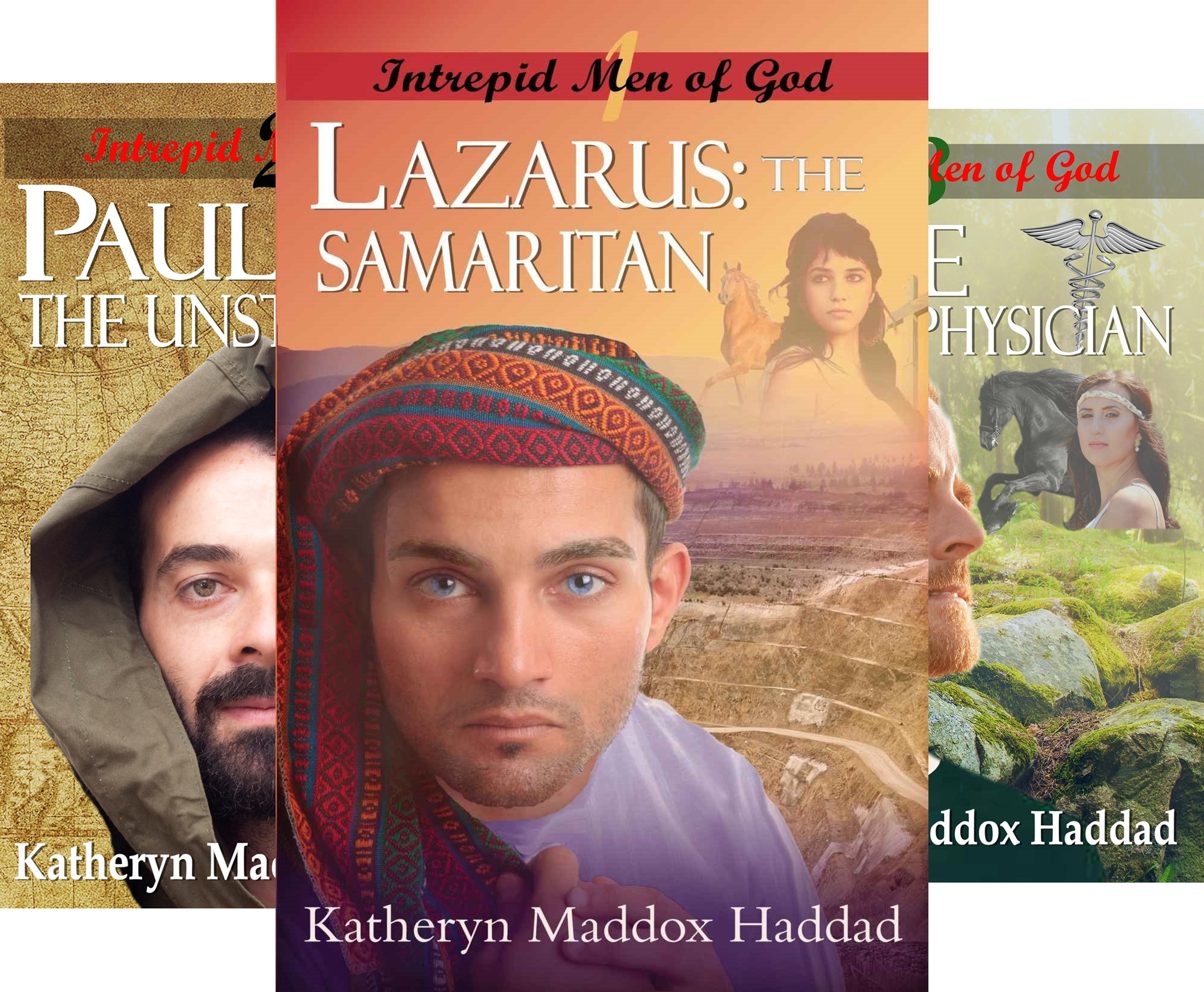 Intrepid Men of God (7 Book Series)