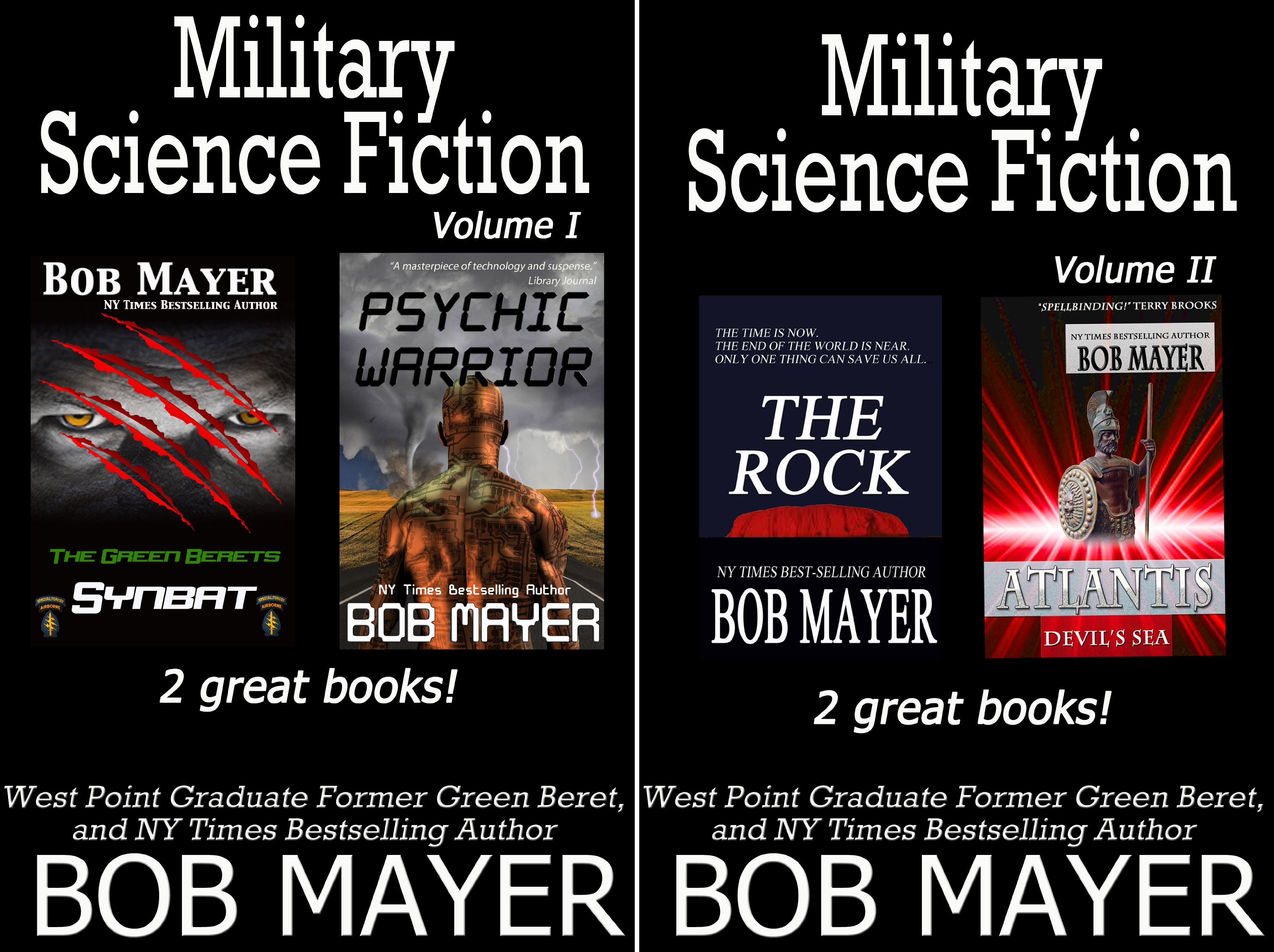 Military Science Fiction (2 Book Series)
