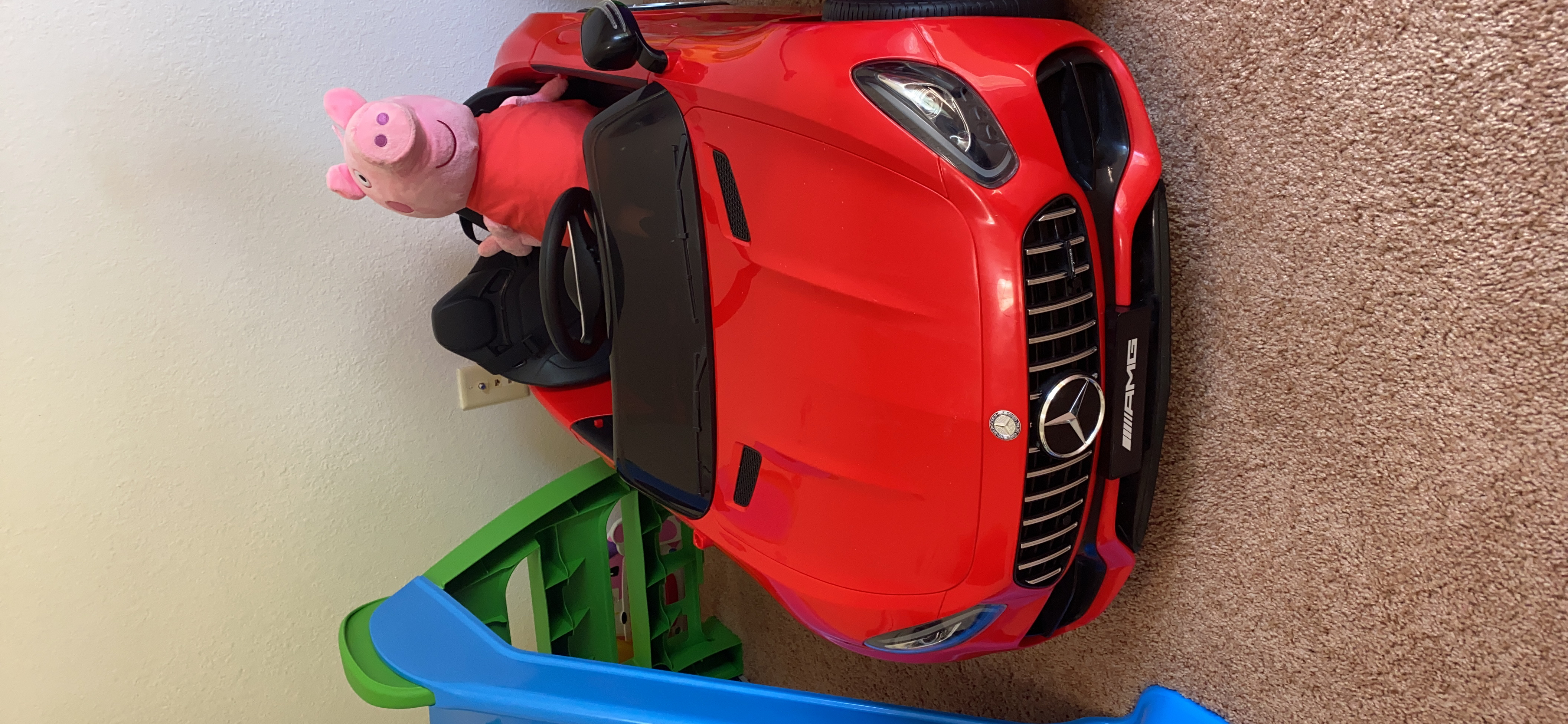 12V Mercedes-Maybach Kids Ride on Car with Remote Conrtol, Red photo review