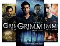 Grimm (3 Book Series) by  John Shirley John Passarella Tim Waggoner