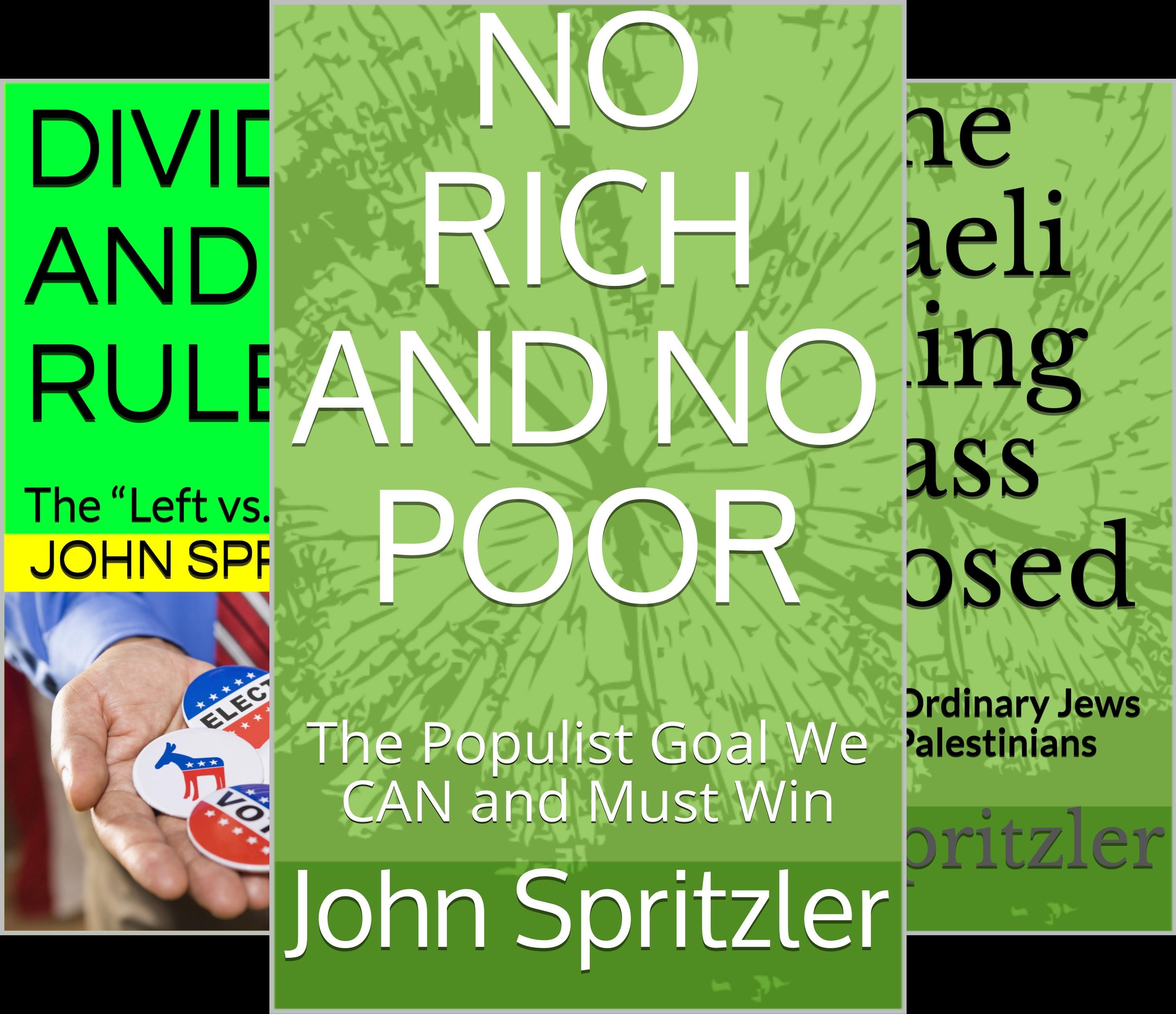 NO RICH AND NO POOR (3 Book Series)