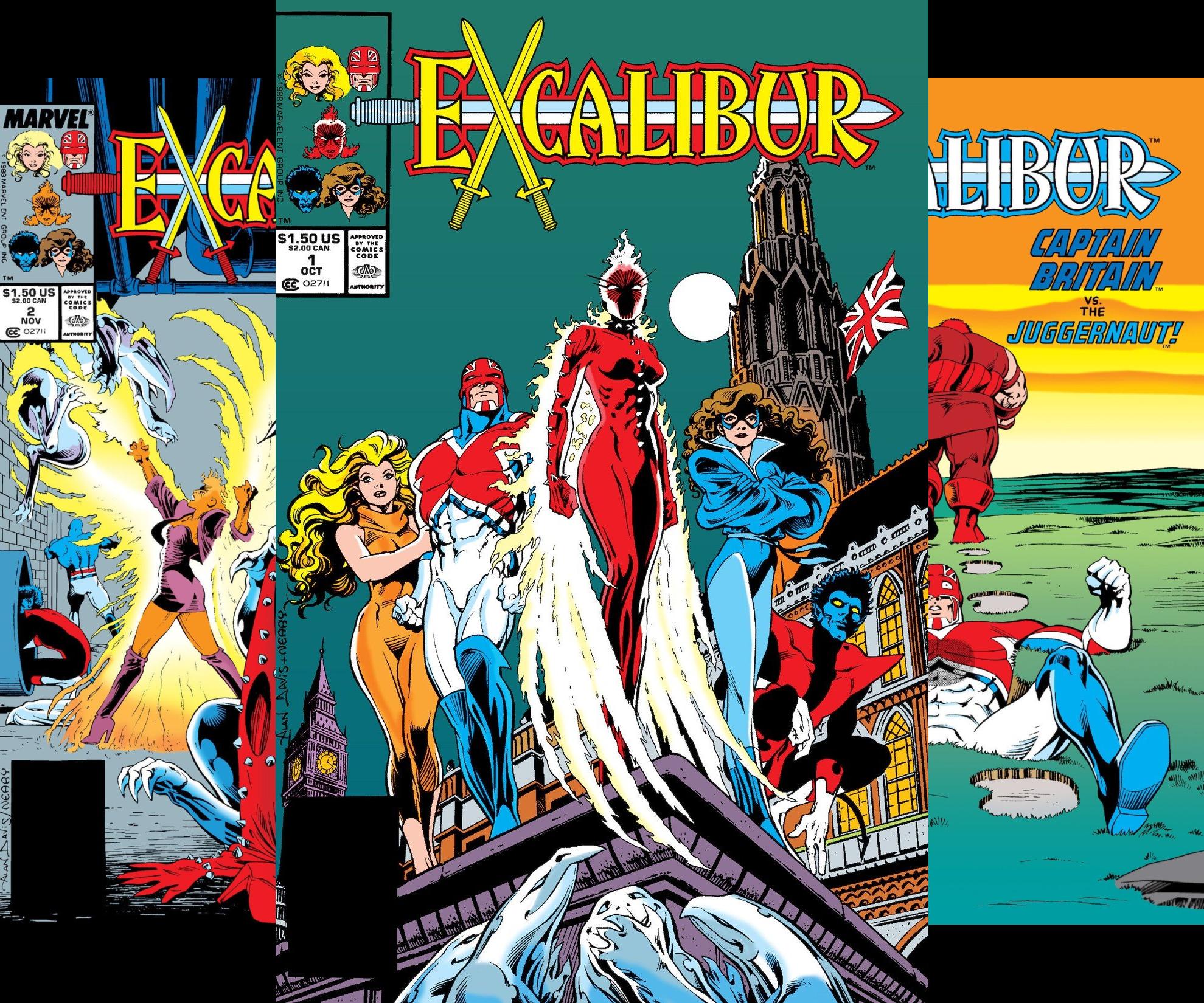 Excalibur (1988-1998) (Issues) (50 Book Series) (Bret Warren)
