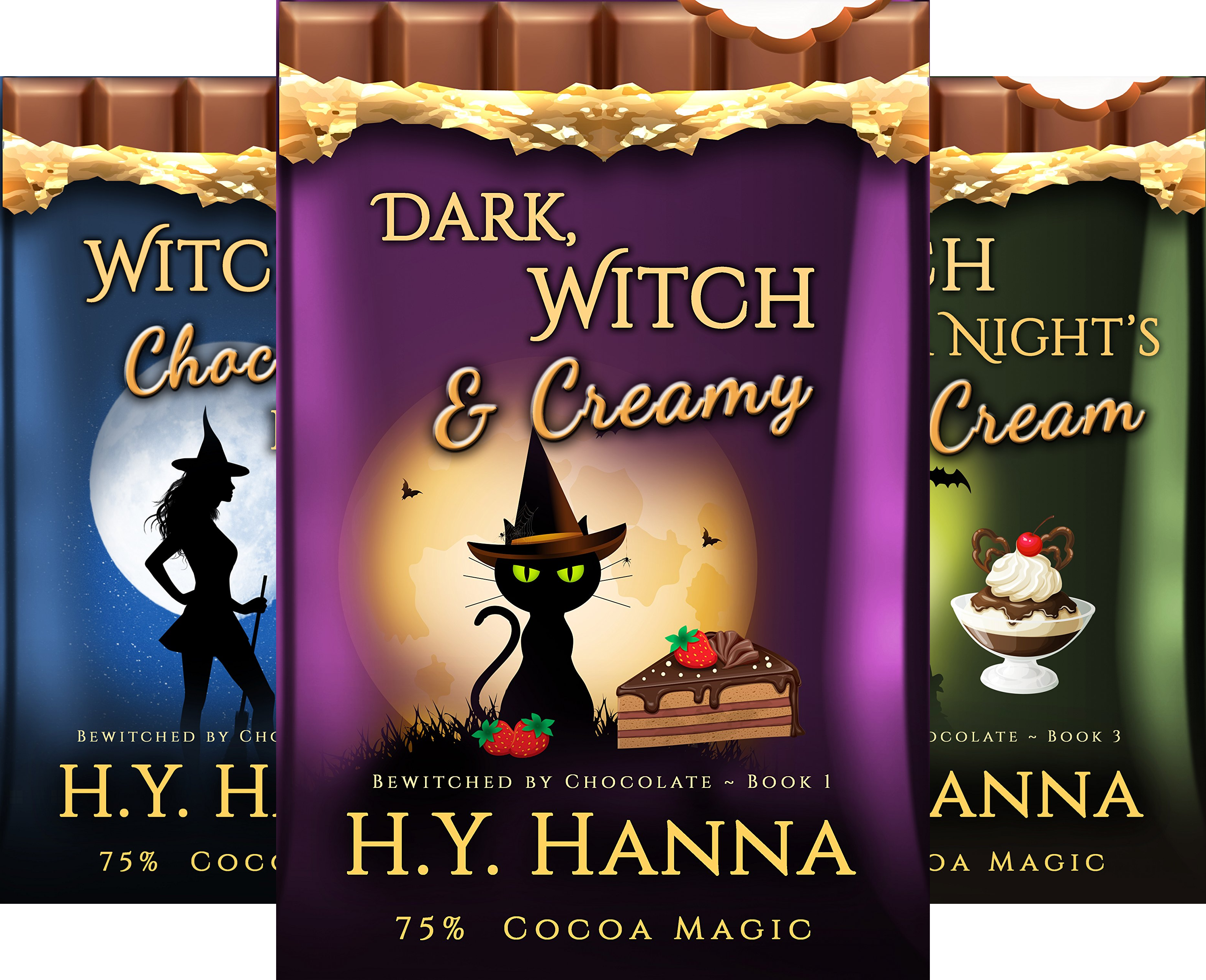 BEWITCHED BY CHOCOLATE Mysteries (3 Book Series)