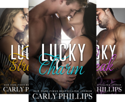 Lucky Series (3 Book Series) by  Carly Phillips