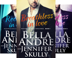 The Maverick Billionaires (4 Book Series) by  Bella Andre Jennifer Skully