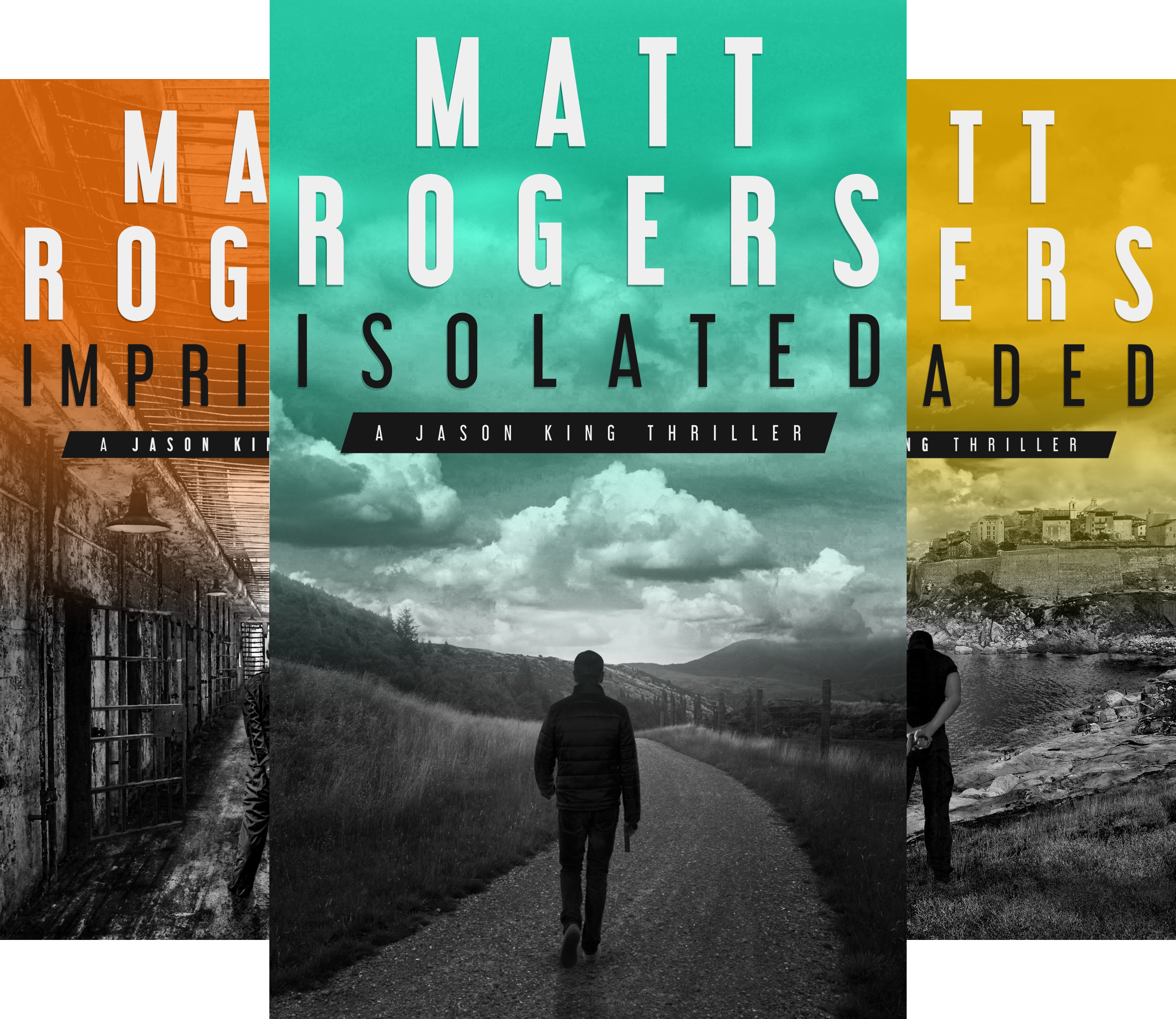 Jason King Series (5 Book Series)