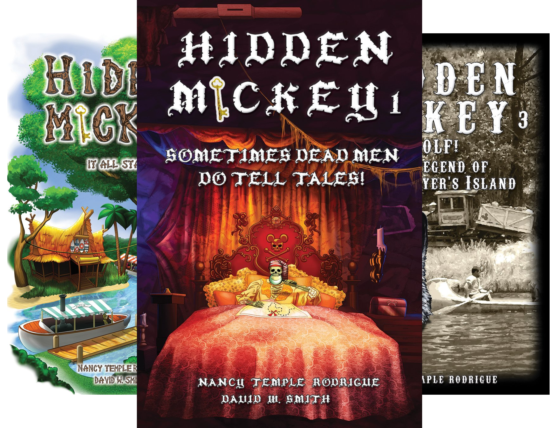 Hidden Mickey (5 Book Series)