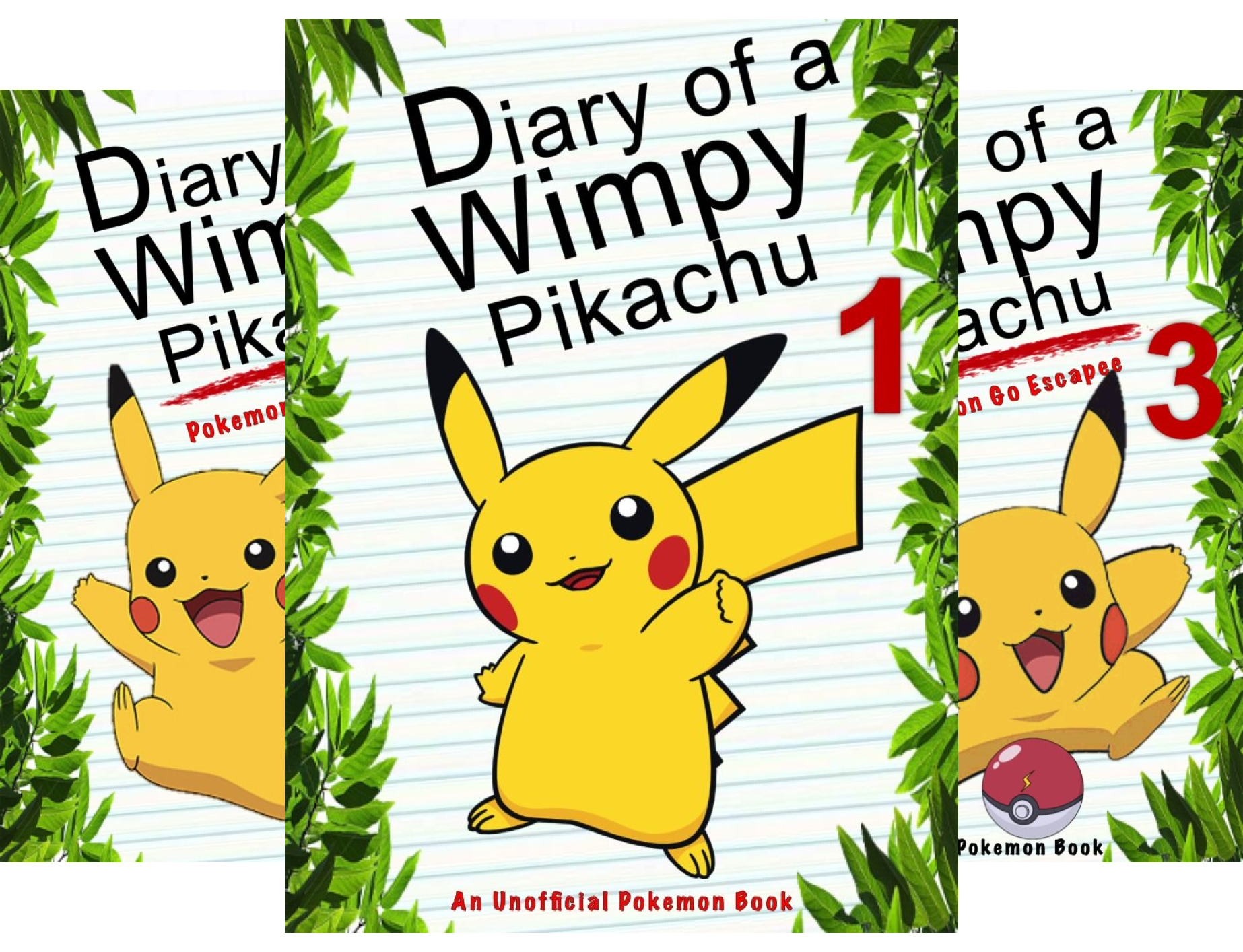 Diary of a Wimpy Pikachu (15 Book Series)