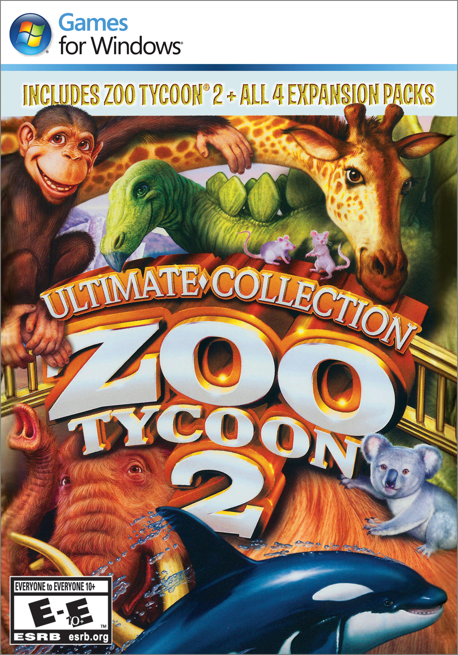 Amazon com: Zoo Tycoon 2 Ultimate Collection [Download]: Video Games