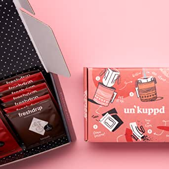 Un'kuppd Pour-over Coffee - Barista Approved Pour-Over Coffee Subscription: 14 Pack Box