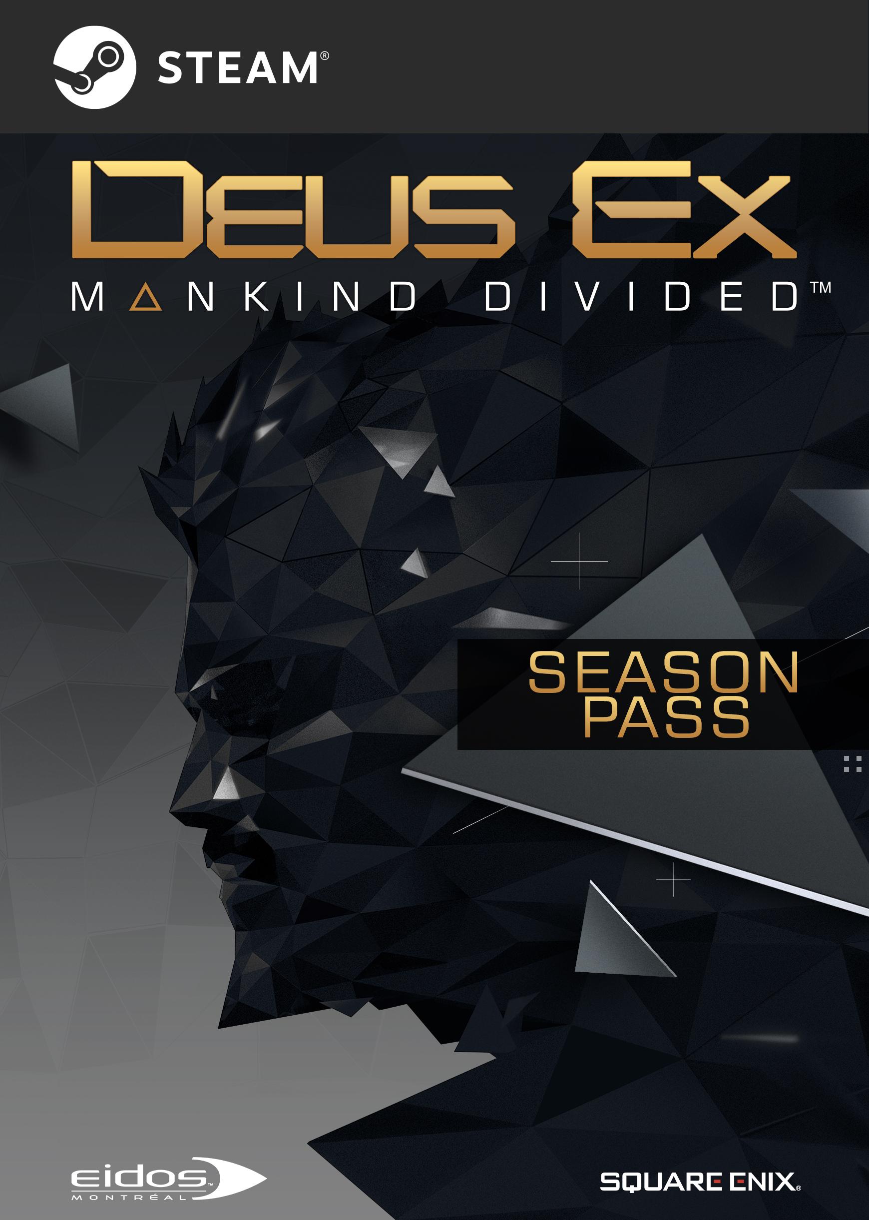 Deus Ex: Mankind Divided - Season Pass [Online Game Code]