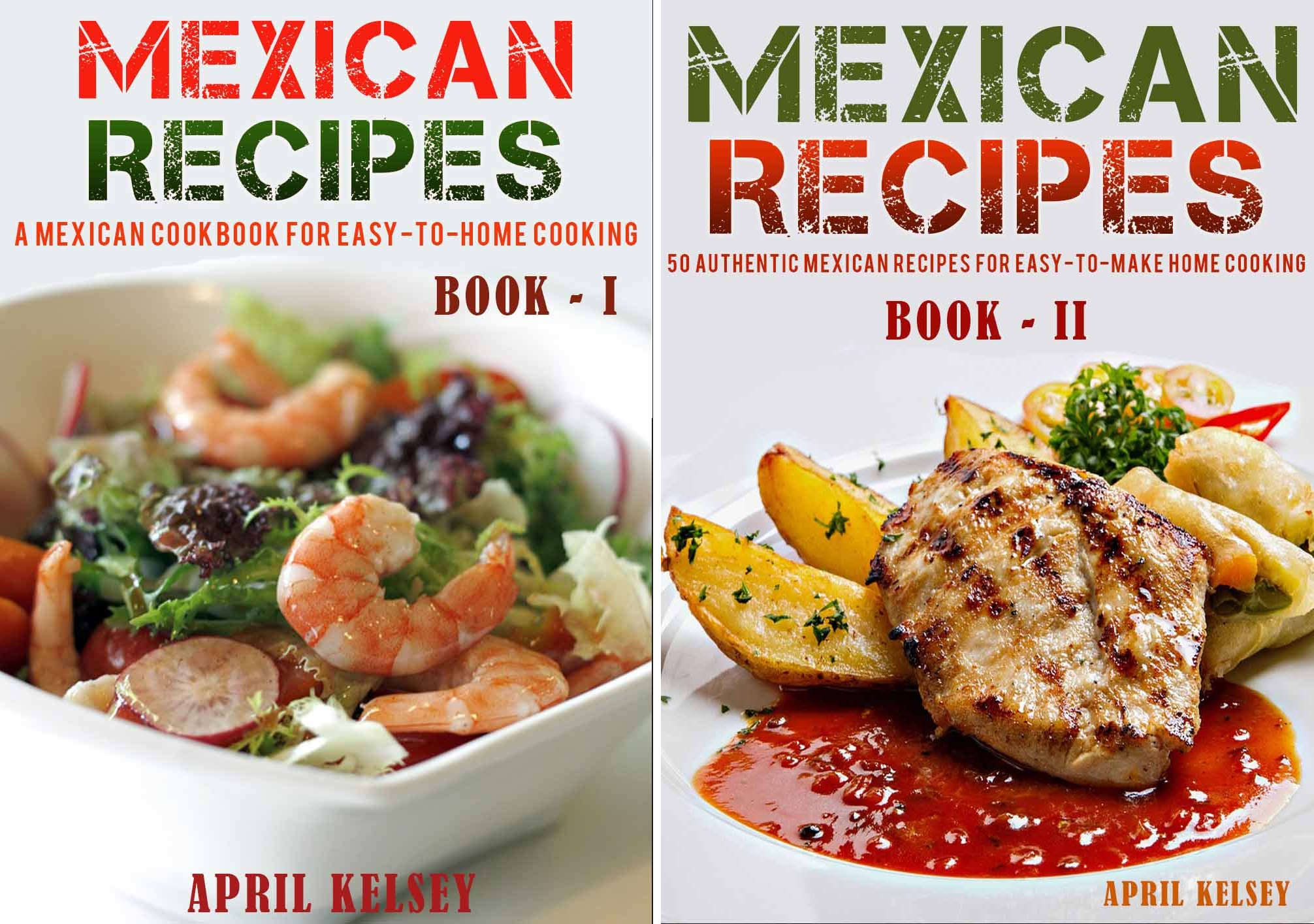 Mexican Cookbook (2 Book Series)