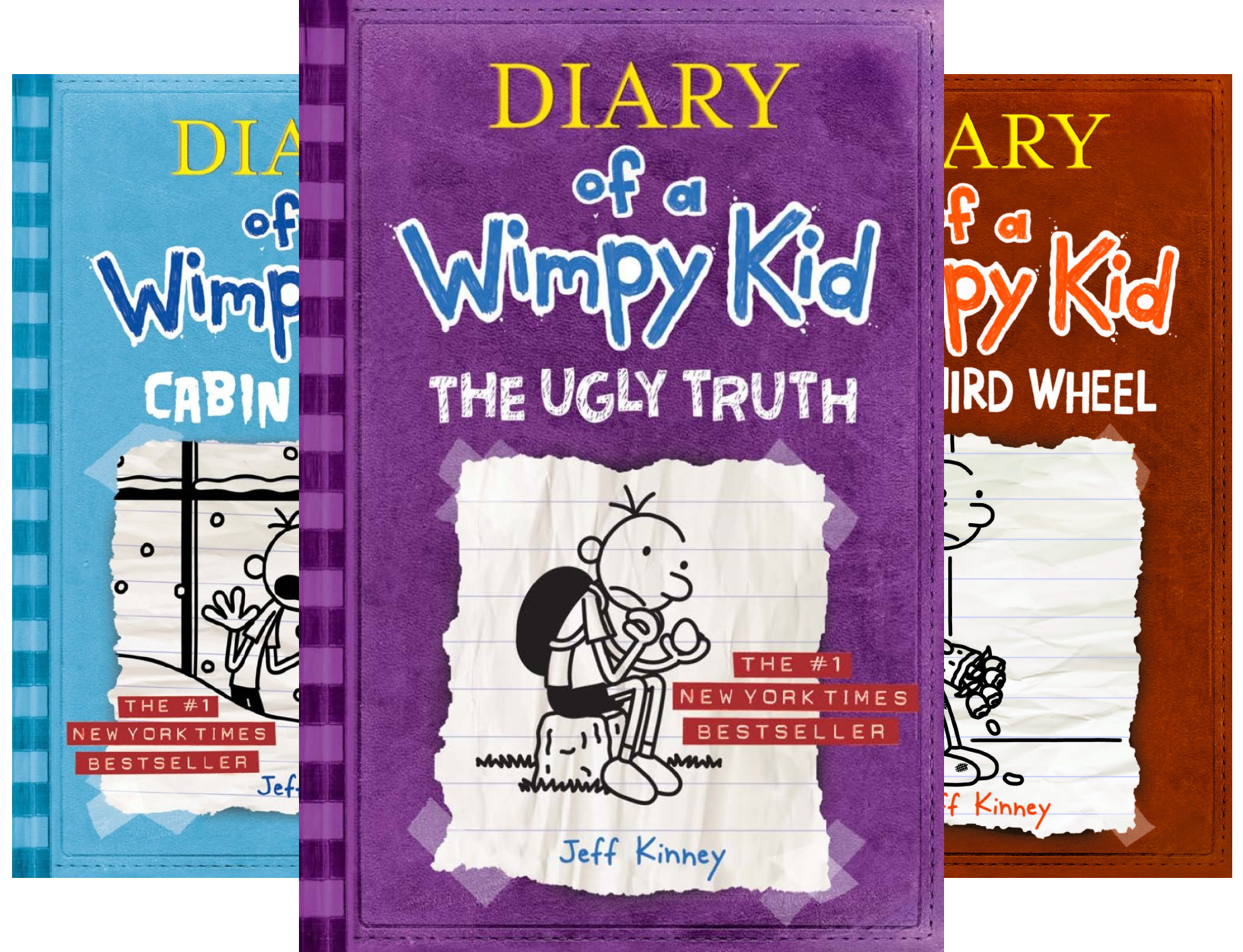 Diary of a Wimpy Kid Books 5-8