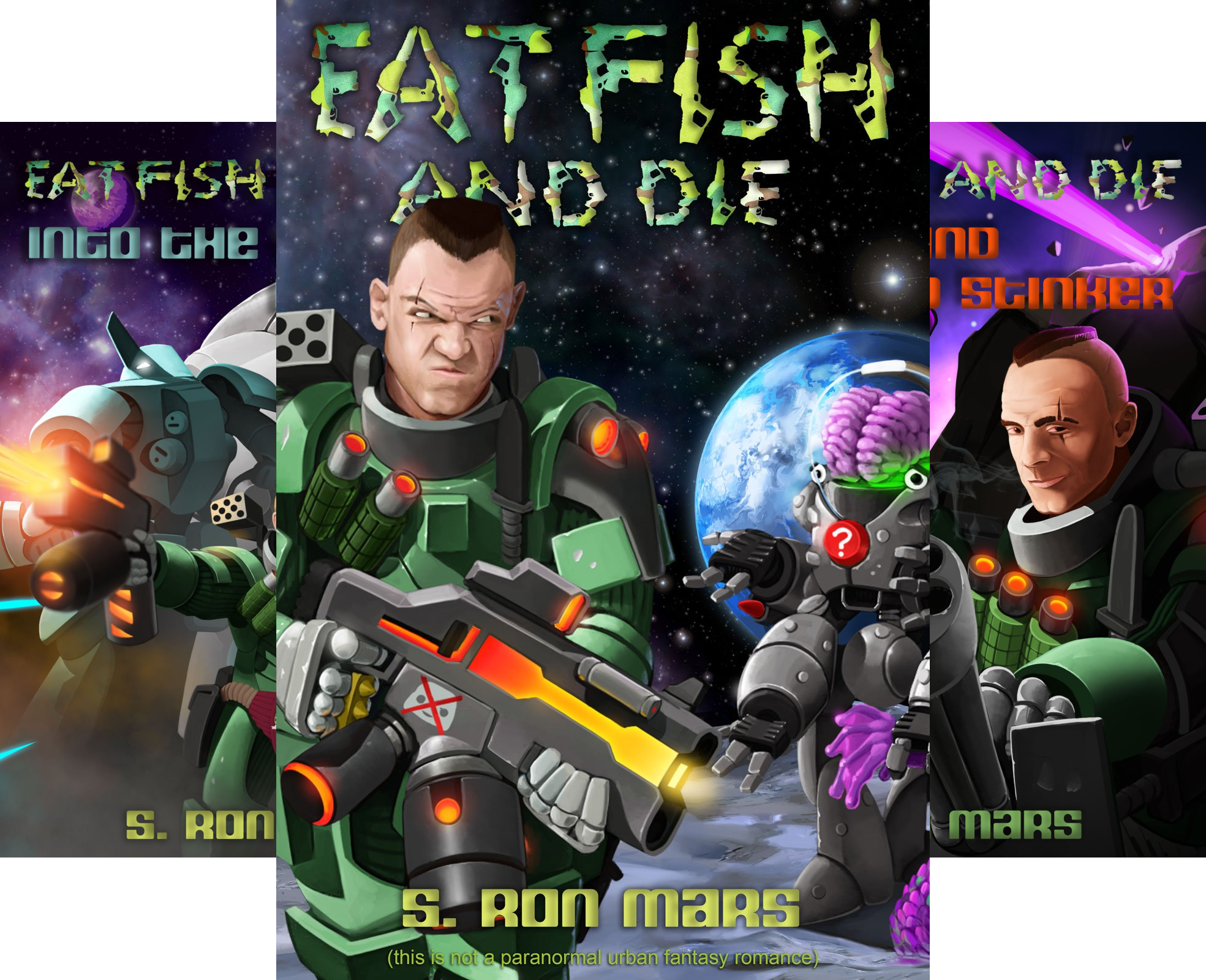 Eat Fish and Die (5 Book Series)