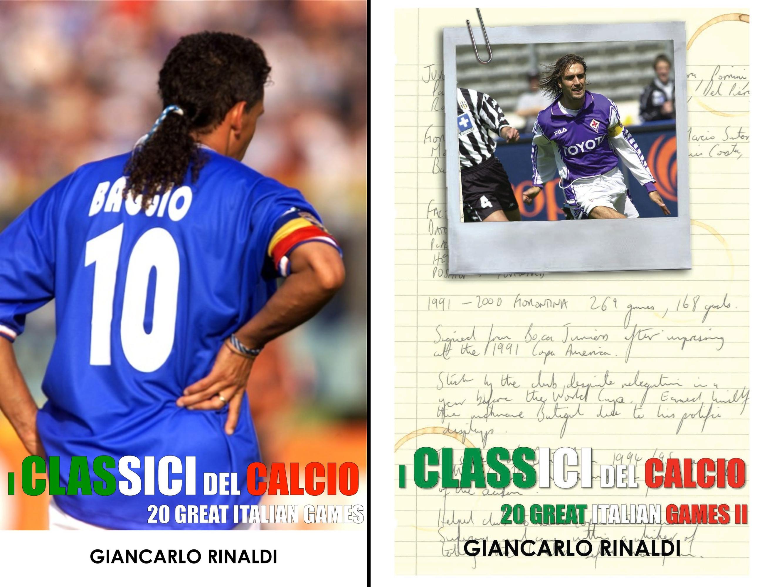 I Classici Del Calcio - 20 Great Italian Games (2 Book Series)
