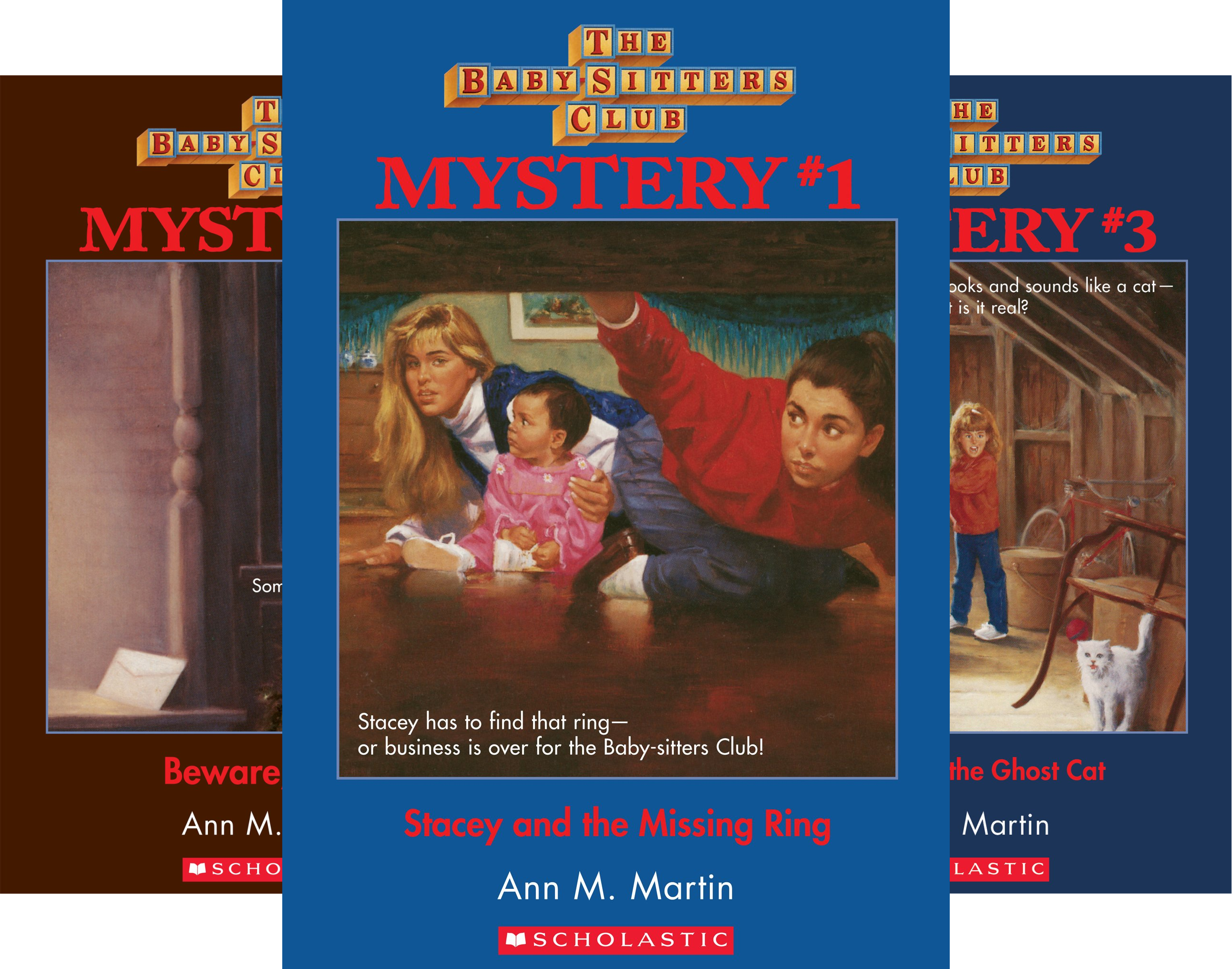 The Baby-Sitters Club Mysteries (36 Book Series)
