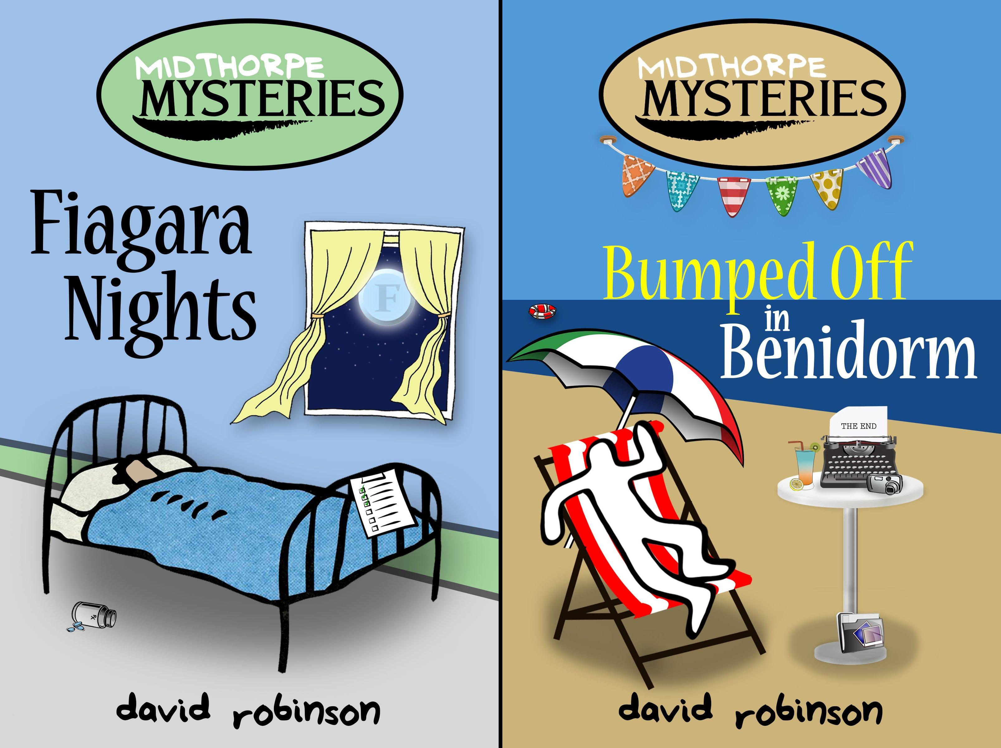 The Midthorpe Mysteries (2 Book Series)