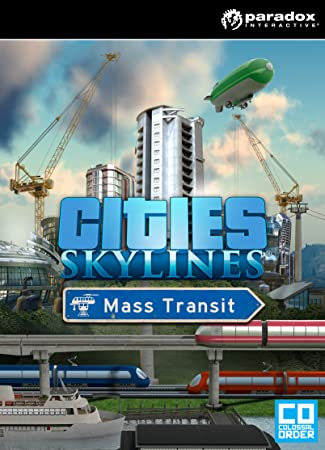 Cities: Skylines - Mass Transit [Online Game Code]