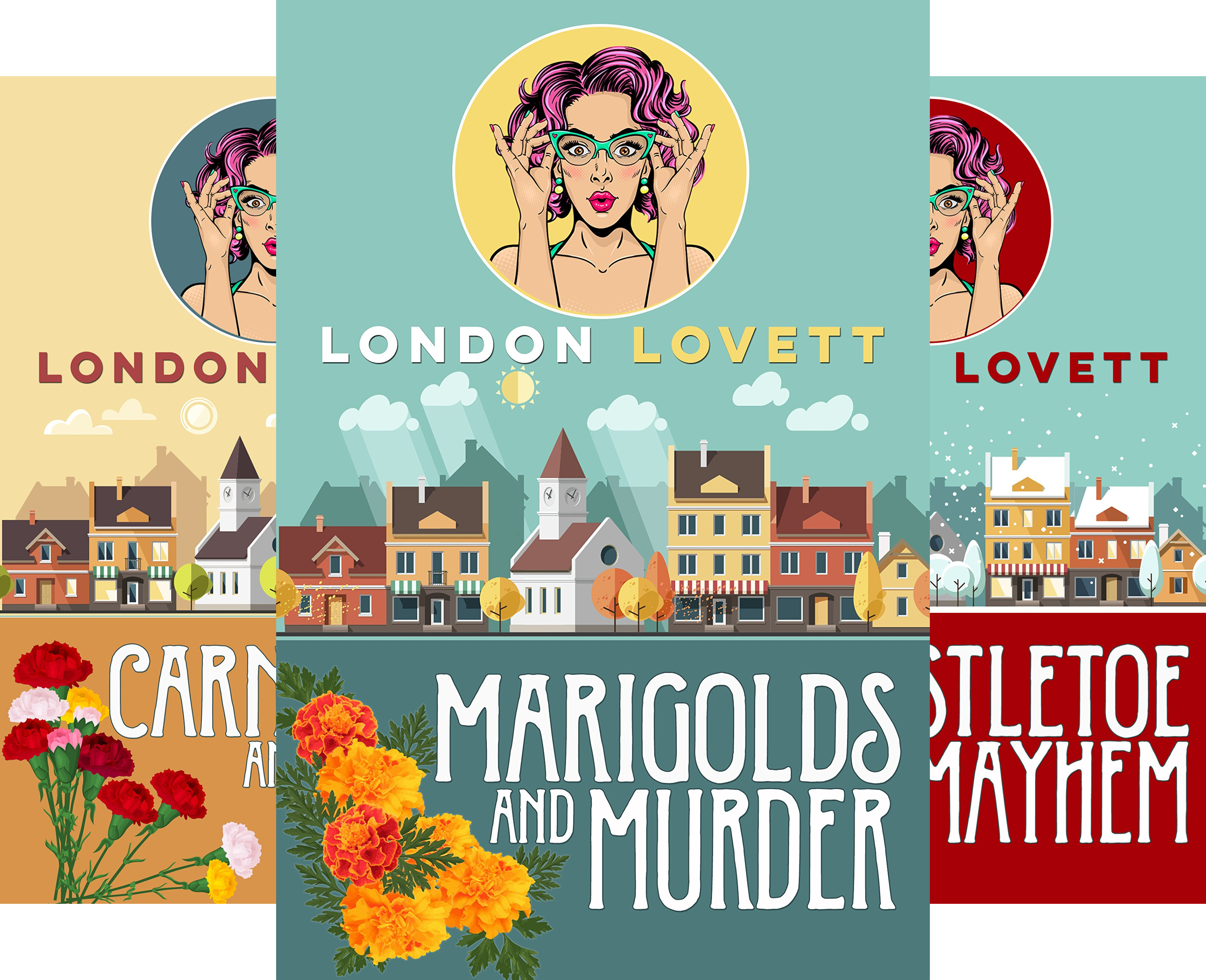 Port Danby Cozy Mystery Series (5 Book Series)