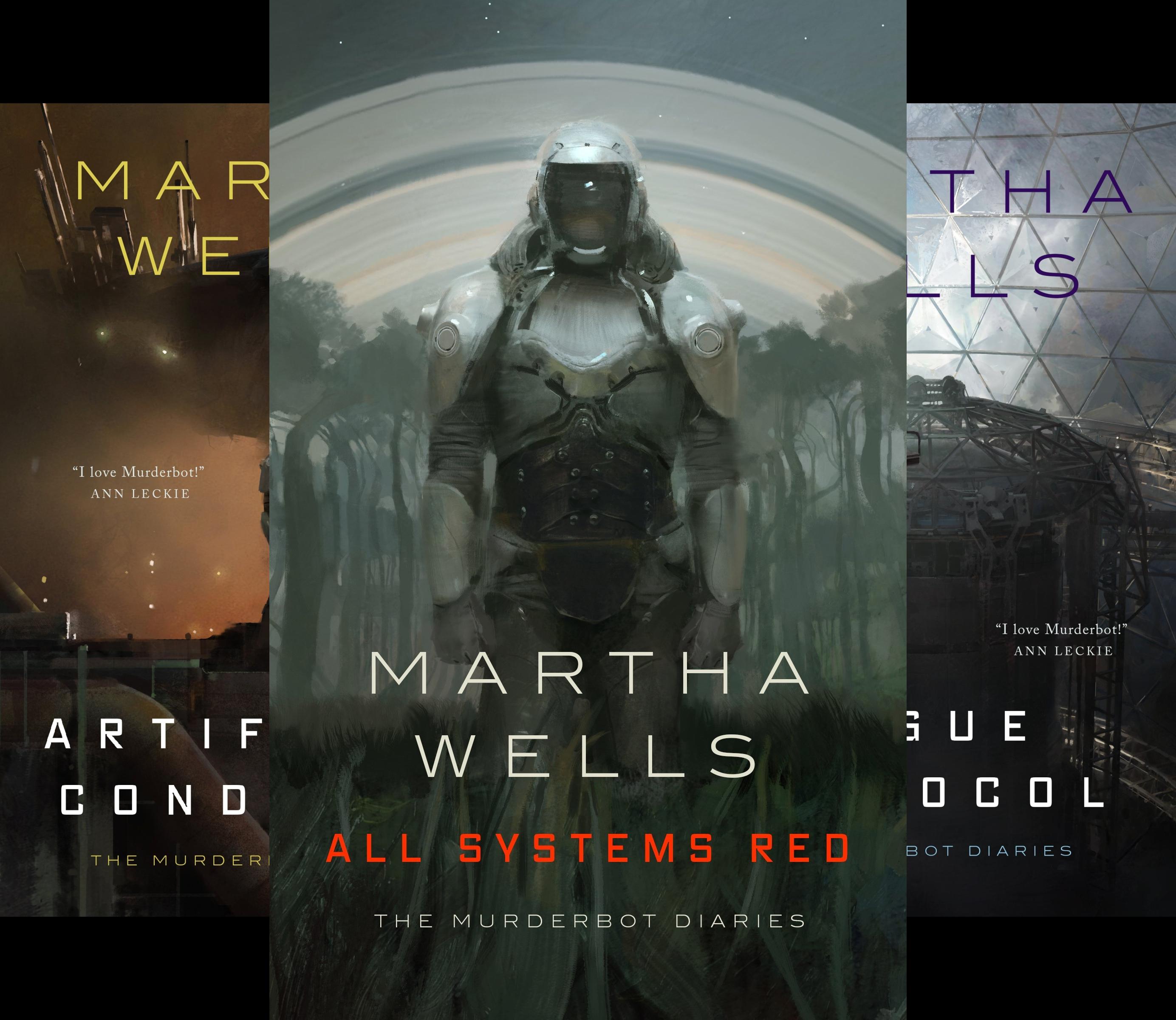 The Murderbot Diaries (4 Book Series)