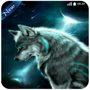 What other items do customers buy after viewing this item? Fantasy Wolf Wallpaper