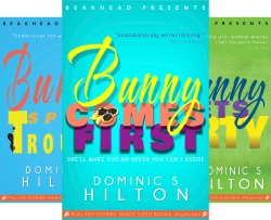 Bunny Peas Screwball Comedies (3 Book Series) by  Dominic S. Hilton