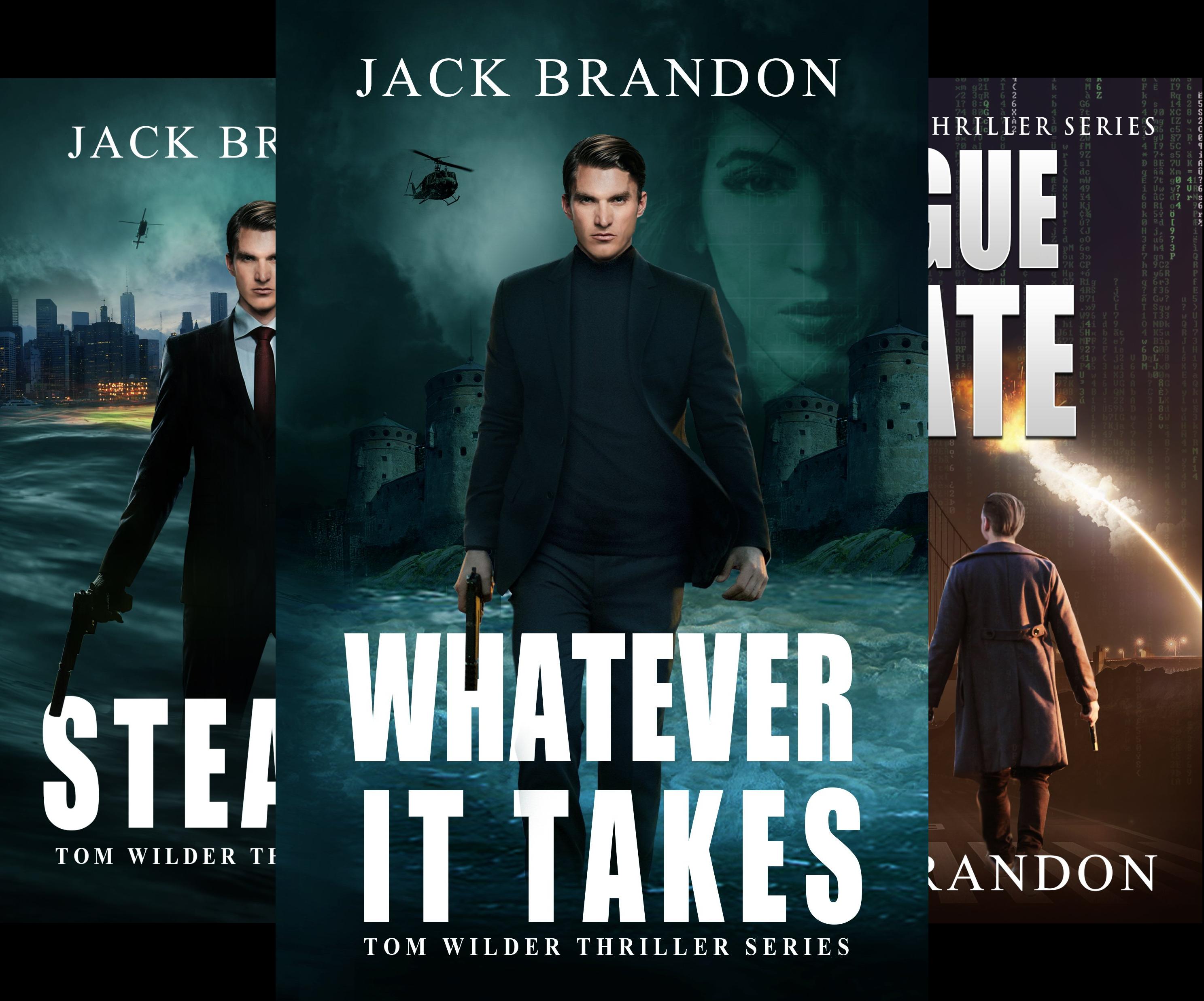 Tom Wilder Thriller Series (3 Book Series)