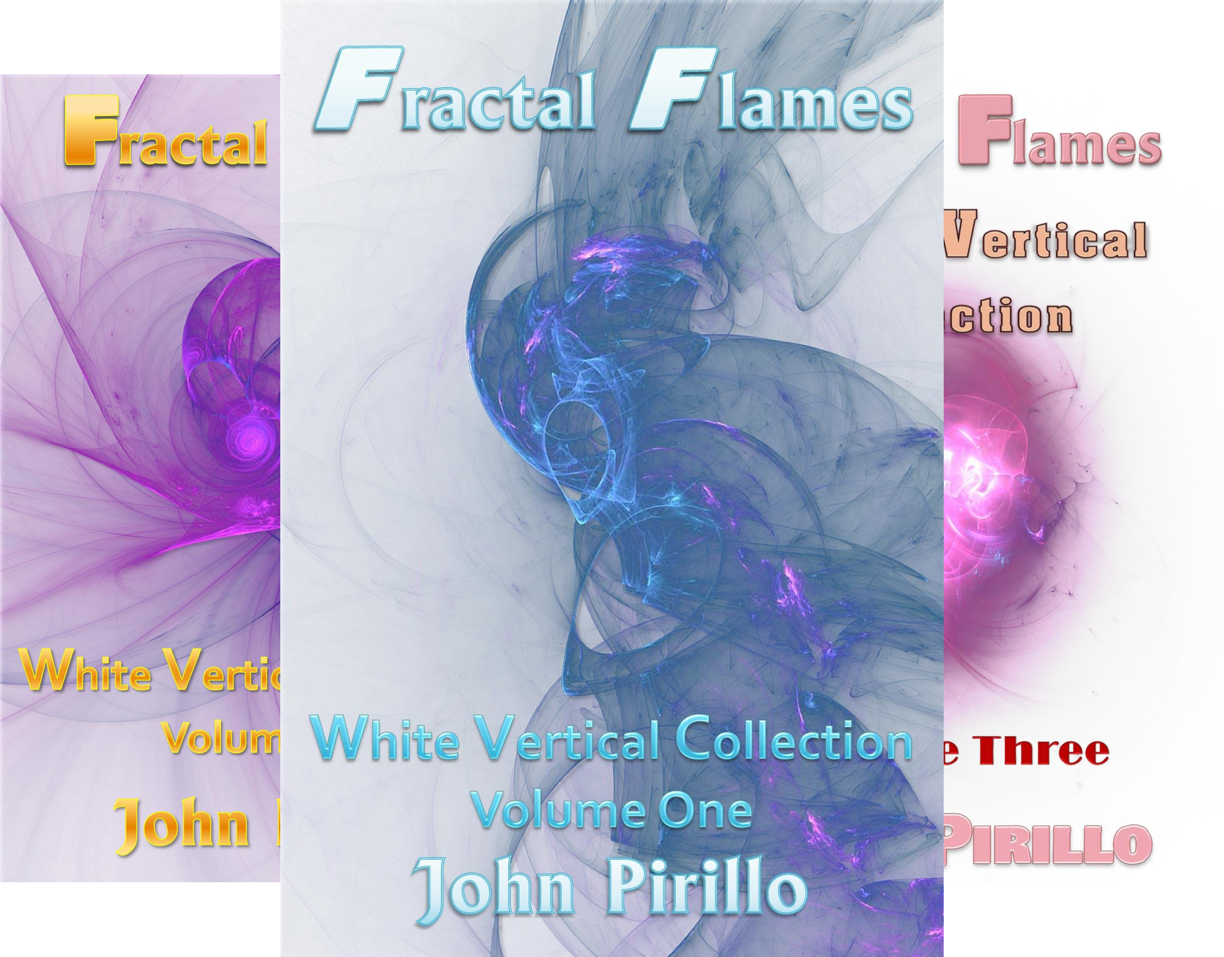 Fractal Flames White Vertical Collection (16 Book Series)