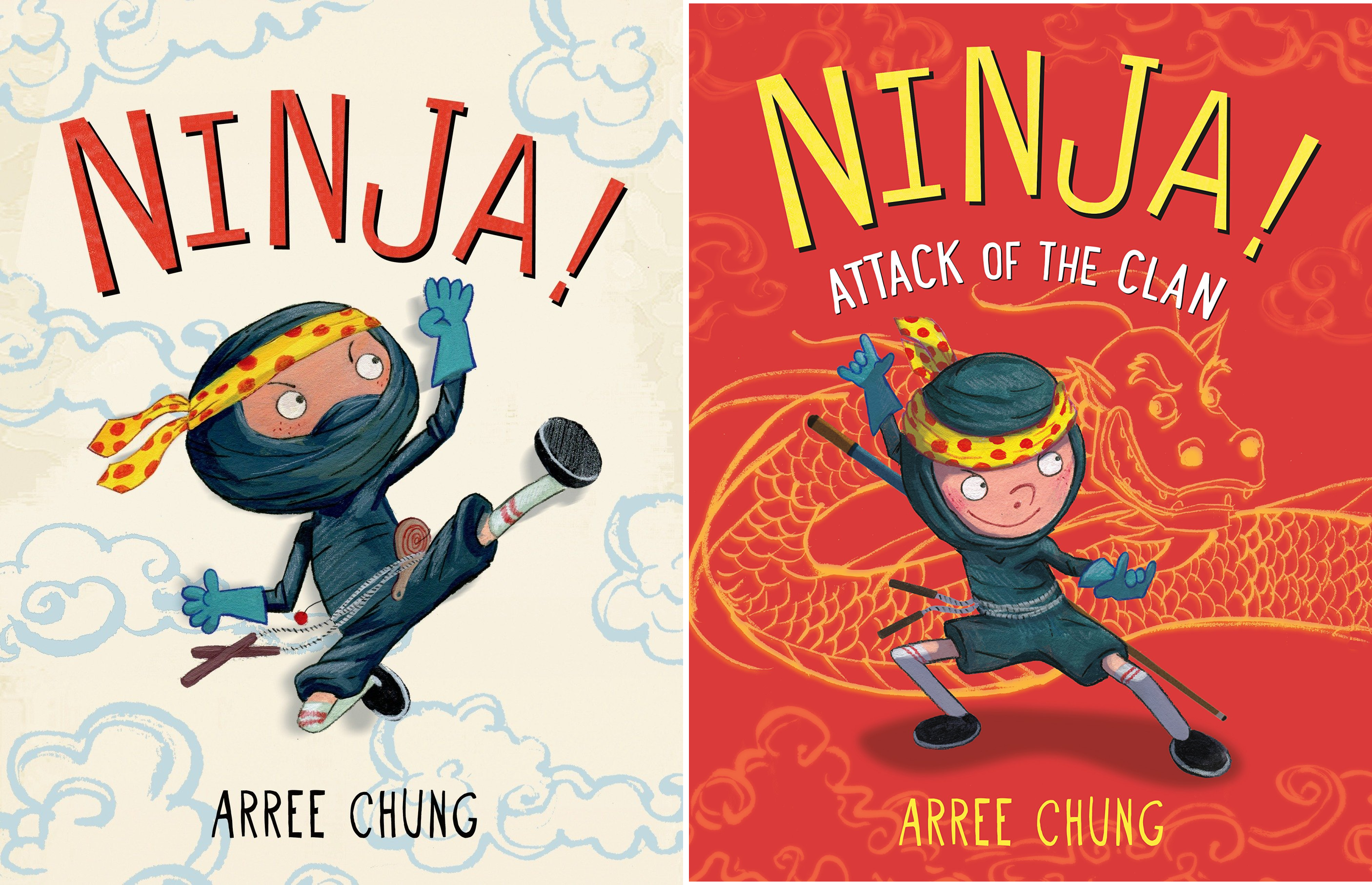 Ninja! (2 Book Series)