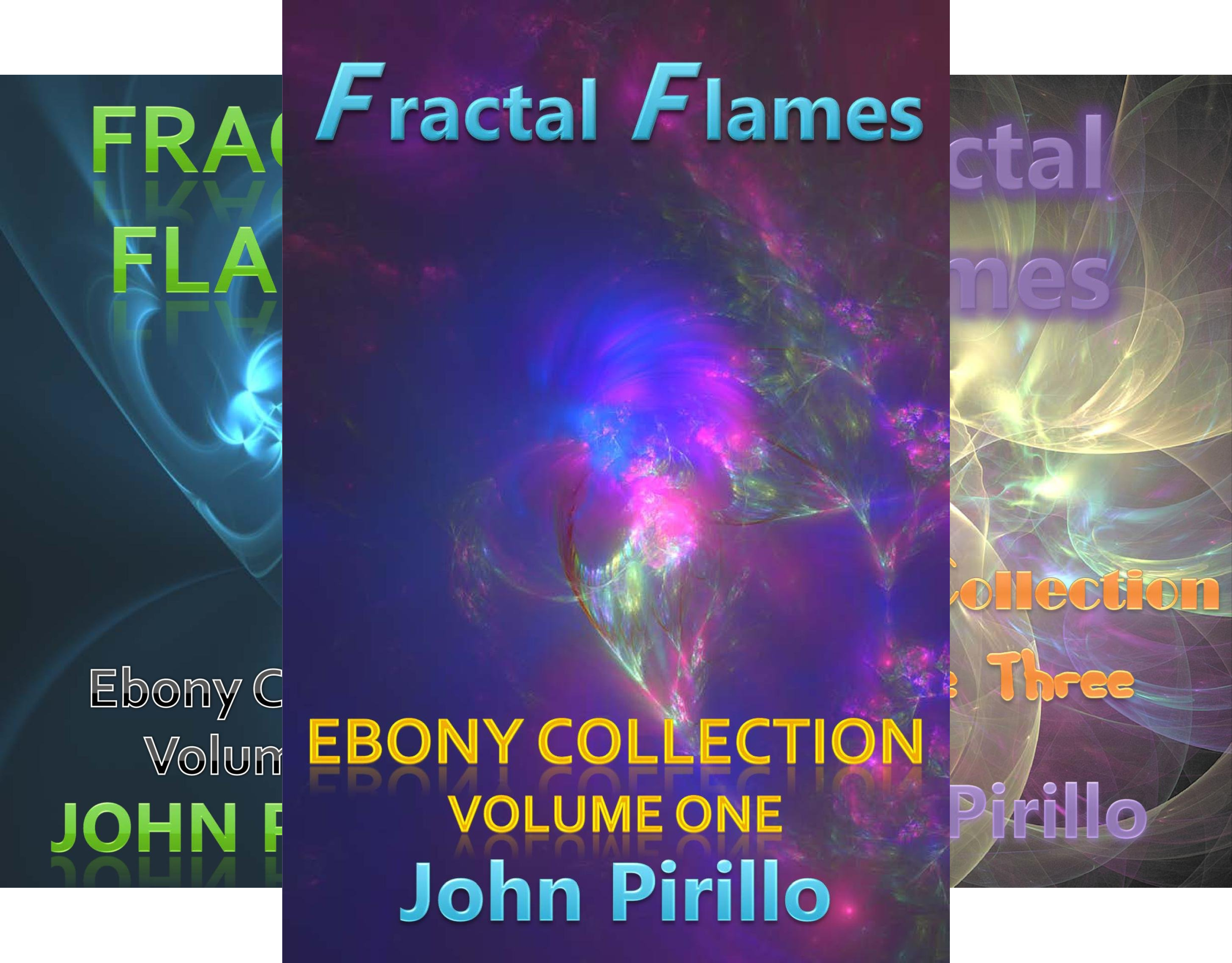 Fractal Flames Ebony Collection (3 Book Series)